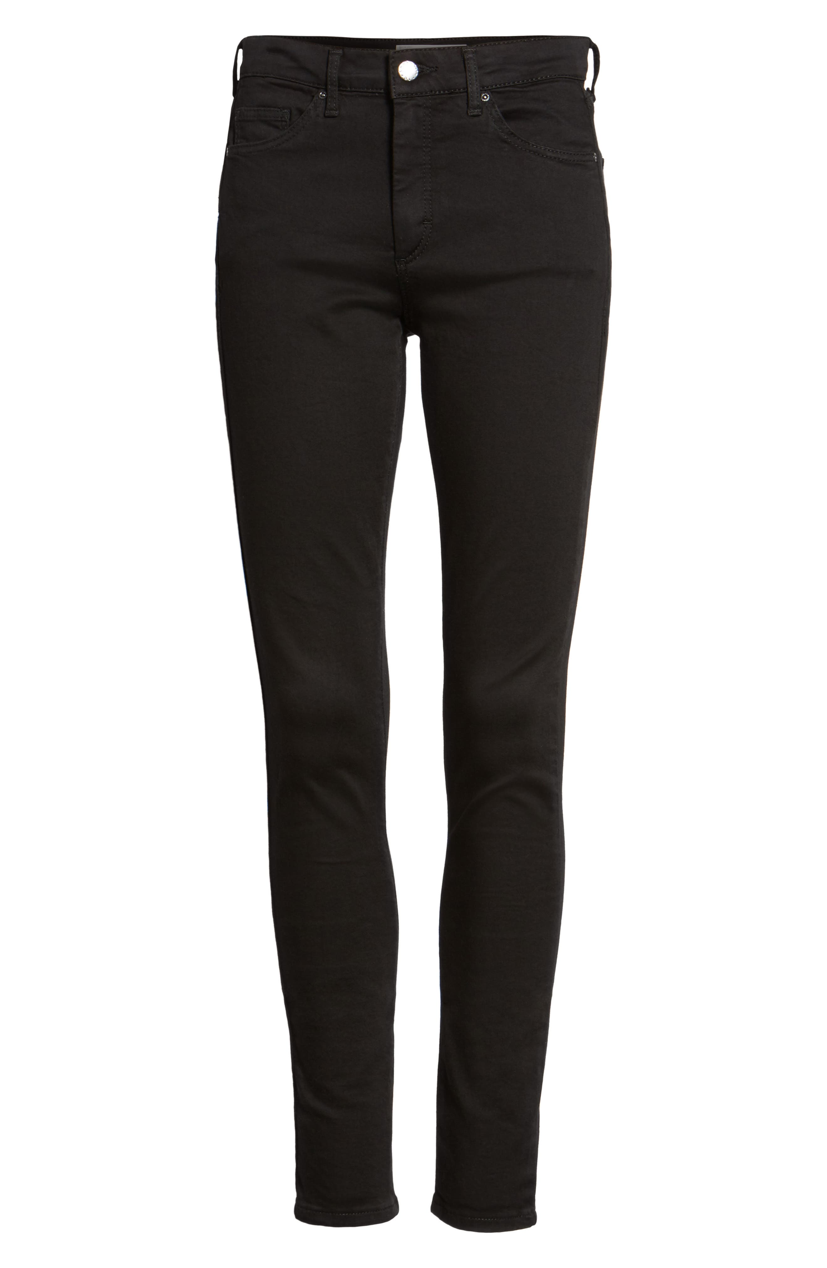 Alternate Image 5  - Topshop Leigh Ankle Skinny Jeans
