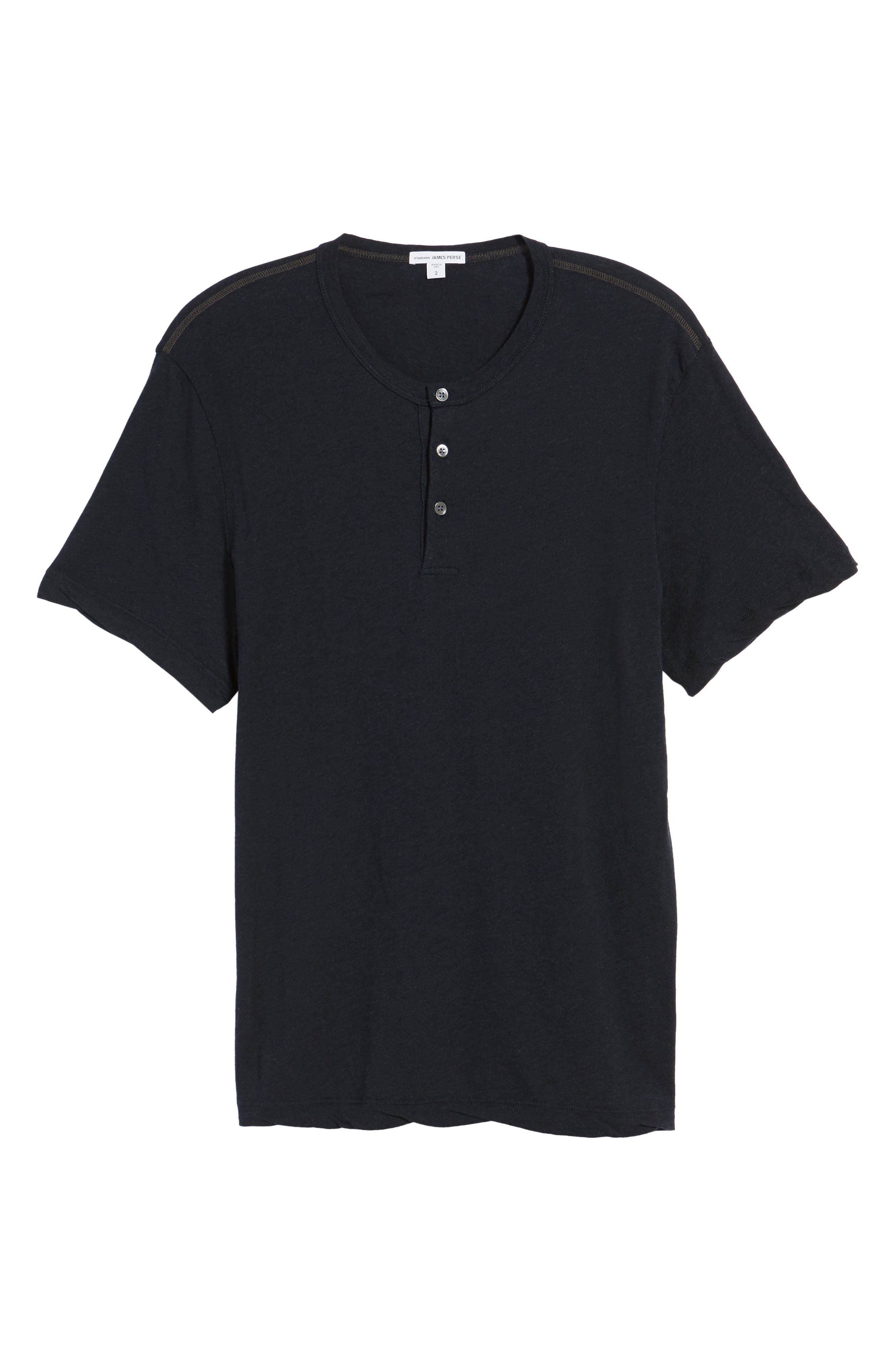 Alternate Image 6  - James Perse Contrast Stitch Henley T-Shirt