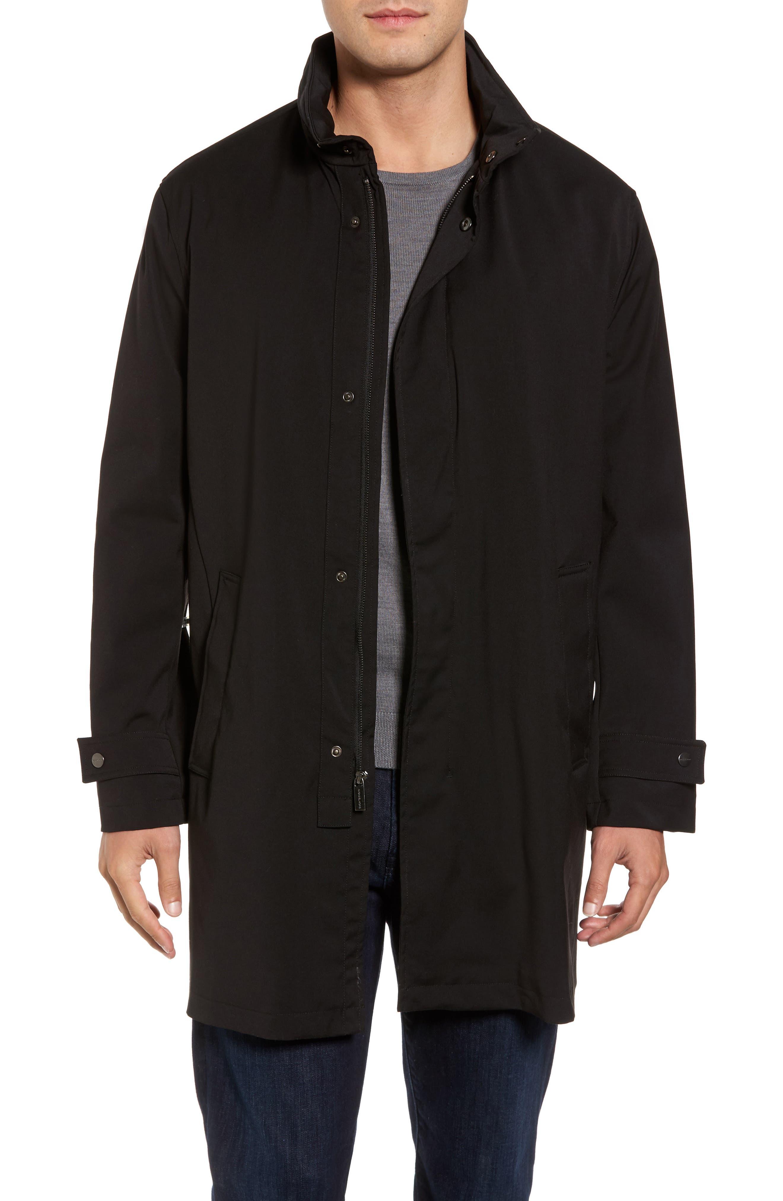 Alternate Image 1 Selected - Michael Kors Stretch Rain Coat