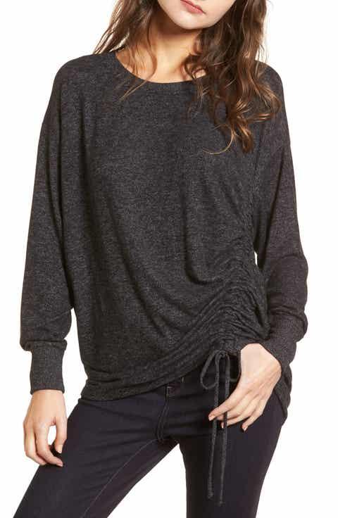 Treasure & Bond Side Cinch Sweatshirt