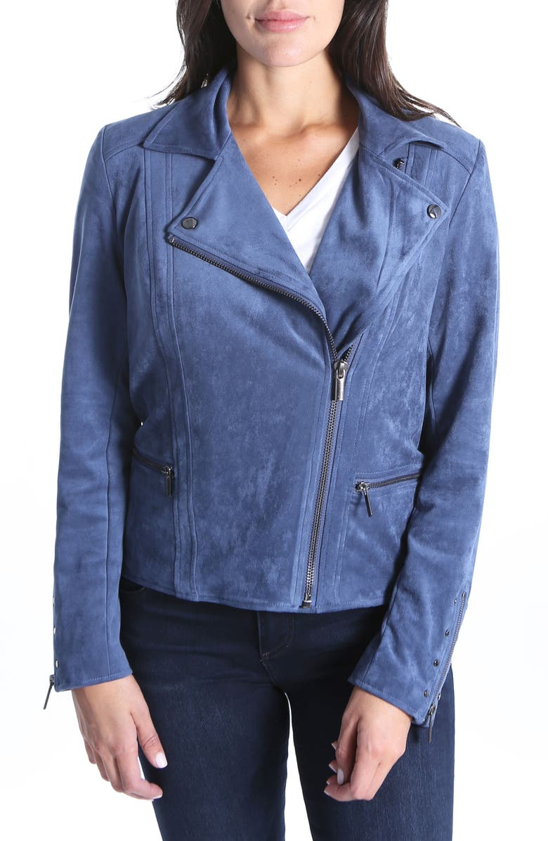 Faux Suede Eveline Jacket
