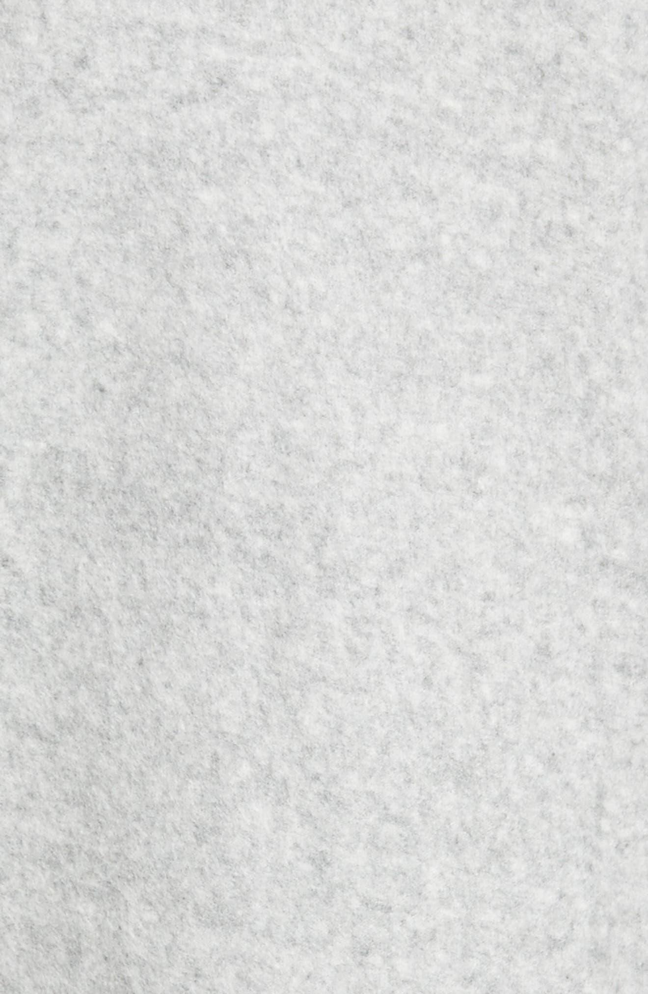 Bell Sleeve Sweatshirt,                             Alternate thumbnail 5, color,                             Grey Heather