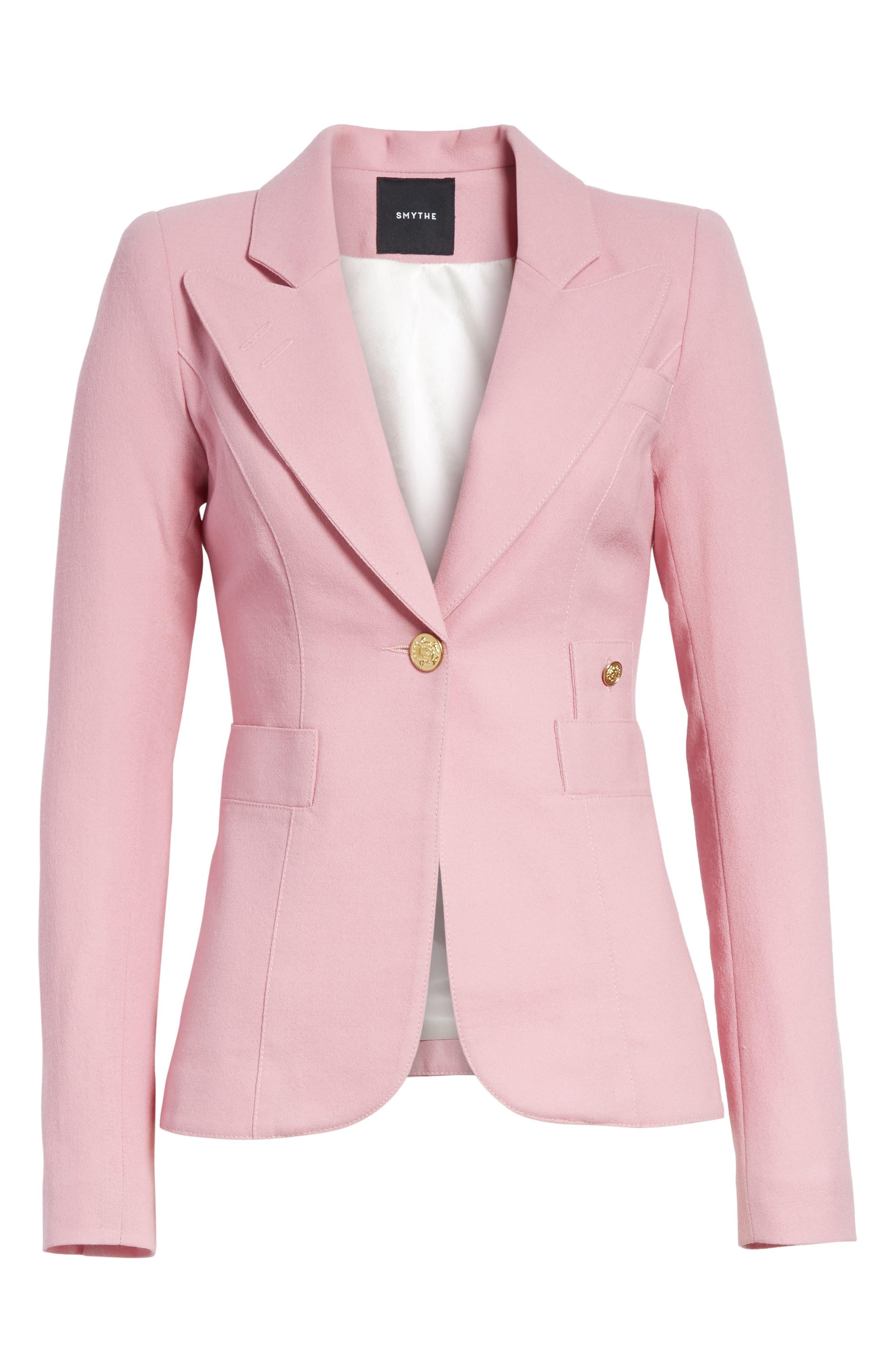 Alternate Image 6  - Smythe 'Duchess' Single Button Blazer