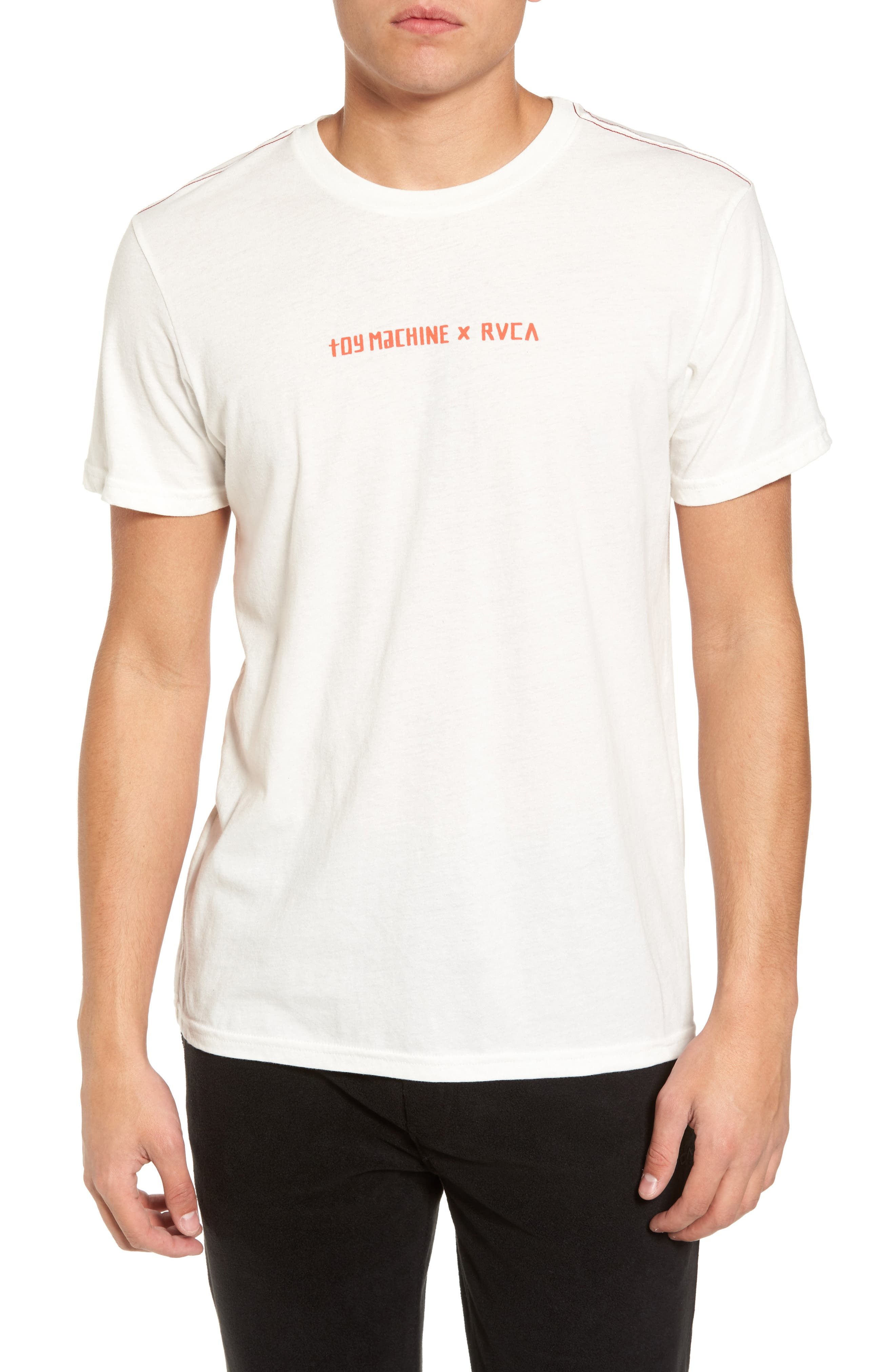Alternate Image 1 Selected - RVCA Toy Machine Graphic T-Shirt