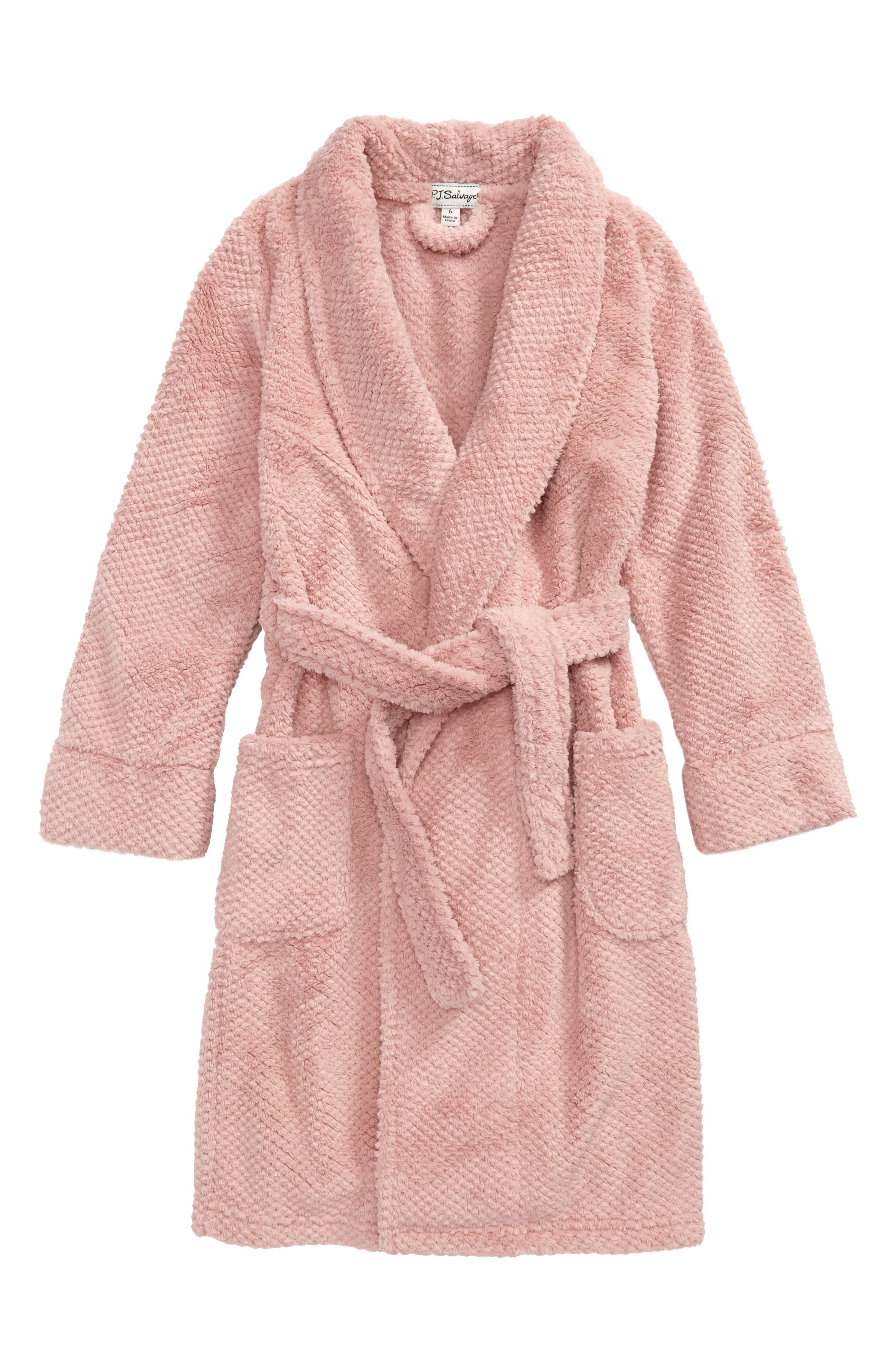 PJ Salvage Waffle Weave Robe (Toddler Girls, Little Girls & Big Girls)