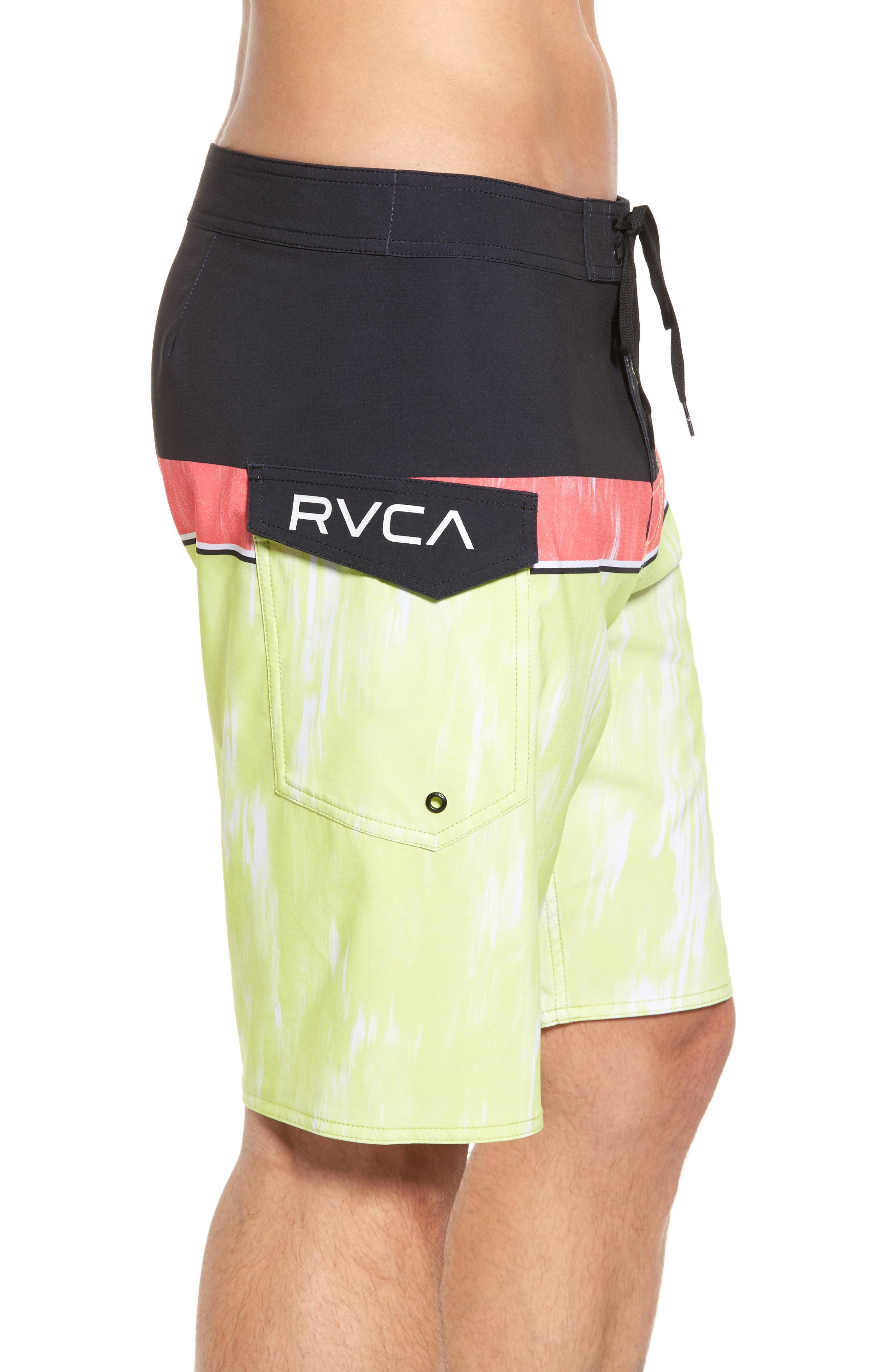 Alternate Image 4  - RVCA Makua Bolt Board Shorts