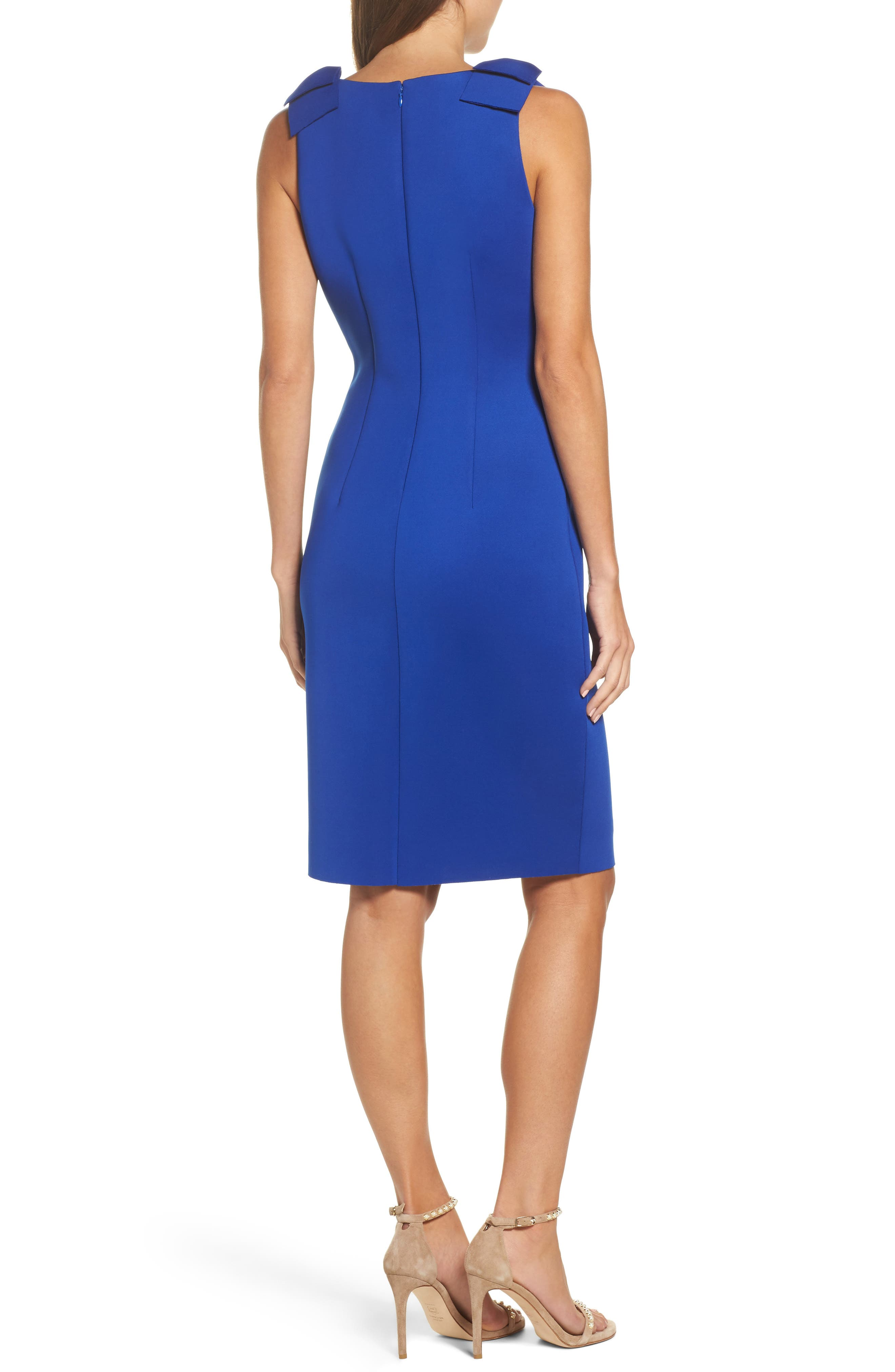 Alternate Image 2  - Eliza J Bow Sheath Dress