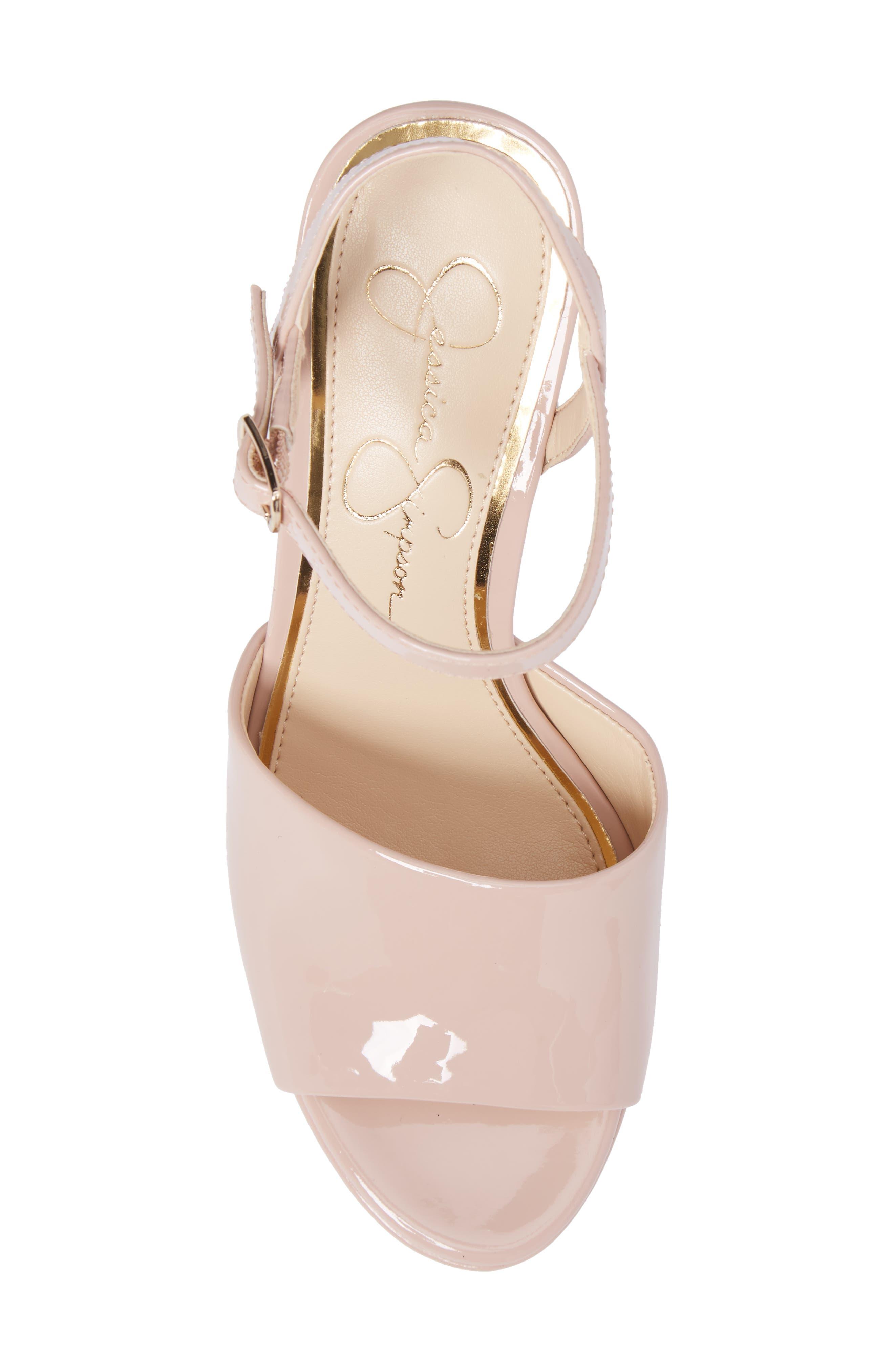 Alternate Image 5  - Jessica Simpson Kerrick Platform Sandal (Women)