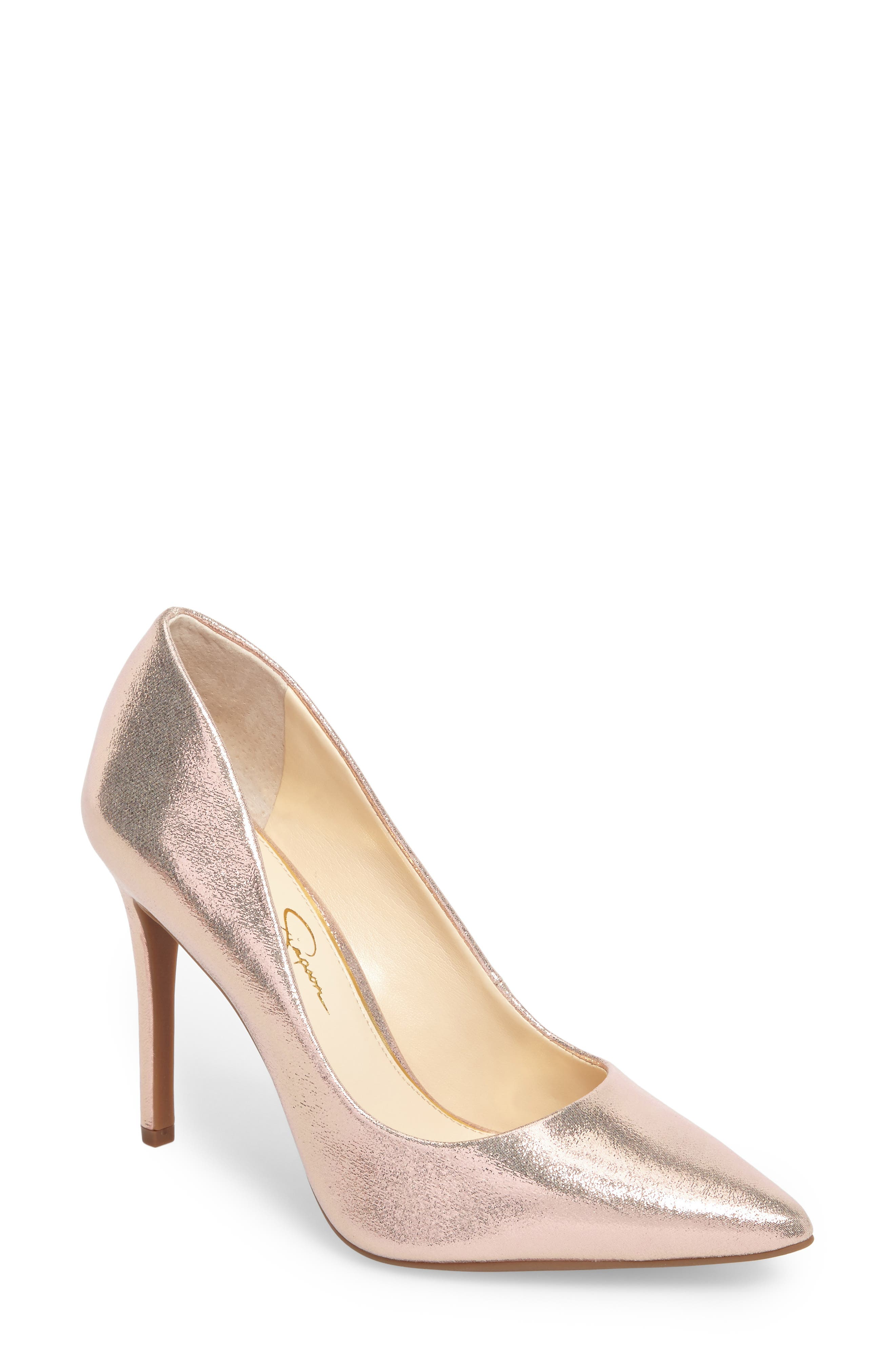 Jessica Simpson Praylee Pointy Toe Pump (Women)