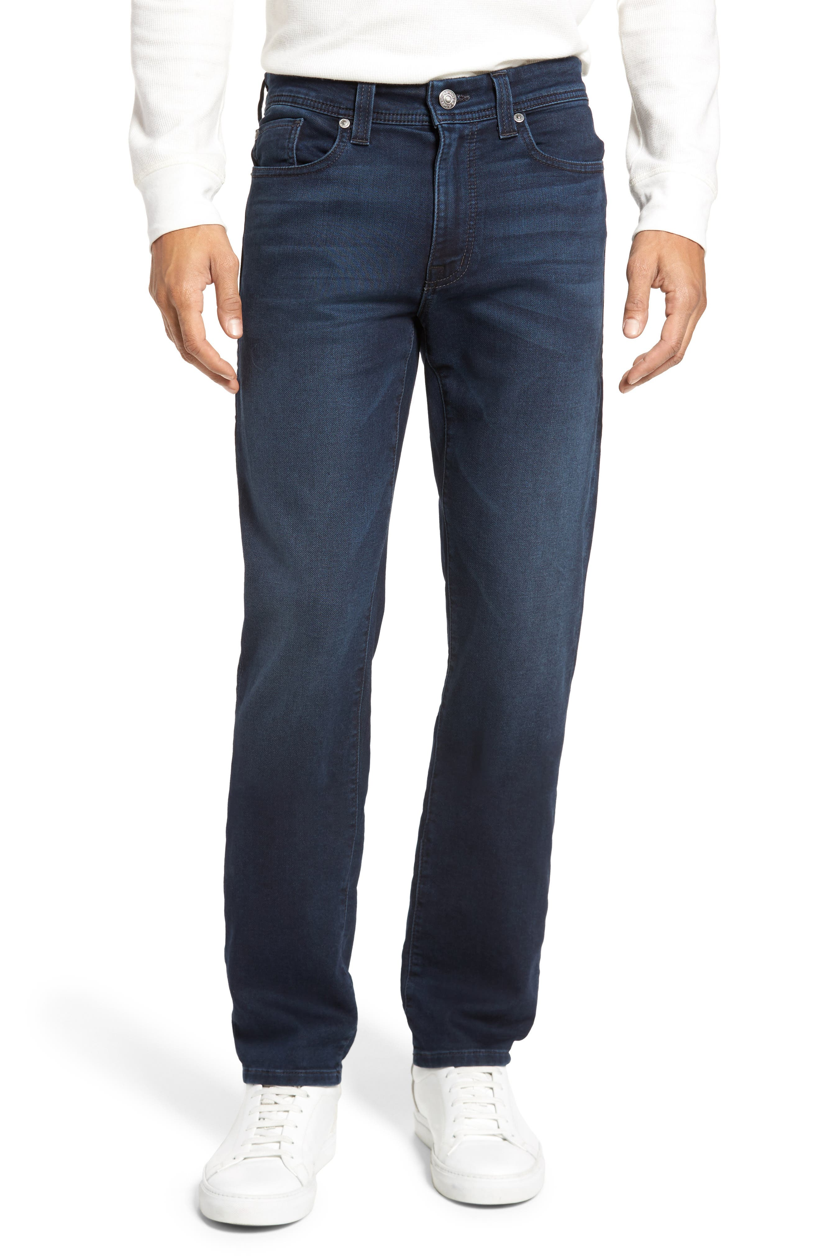 Jimmy Slim Straight Fit Jeans,                         Main,                         color, Oxy Twilight