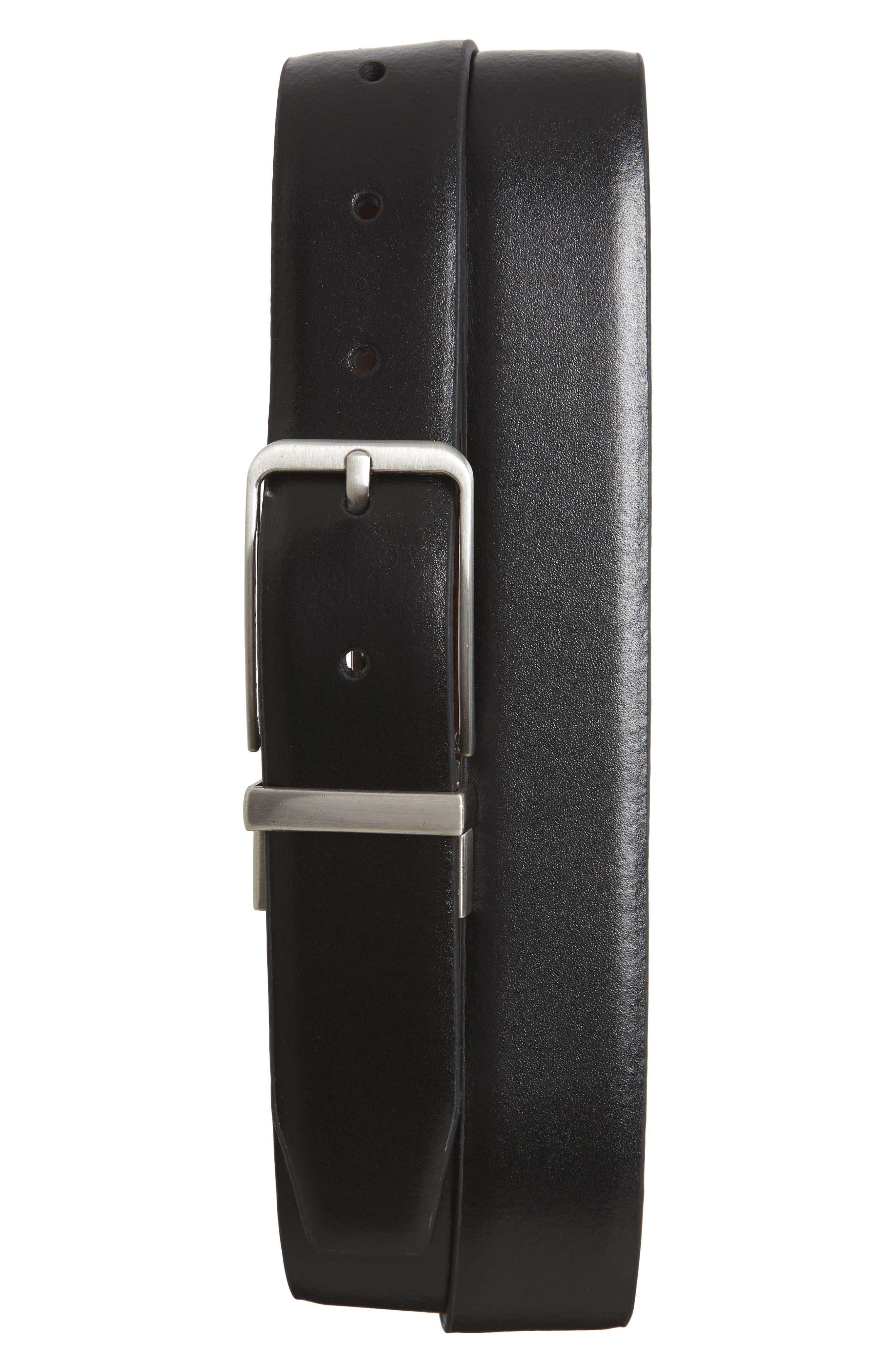 Main Image - Nordstrom Men's Shop Porter Reversible Leather Belt