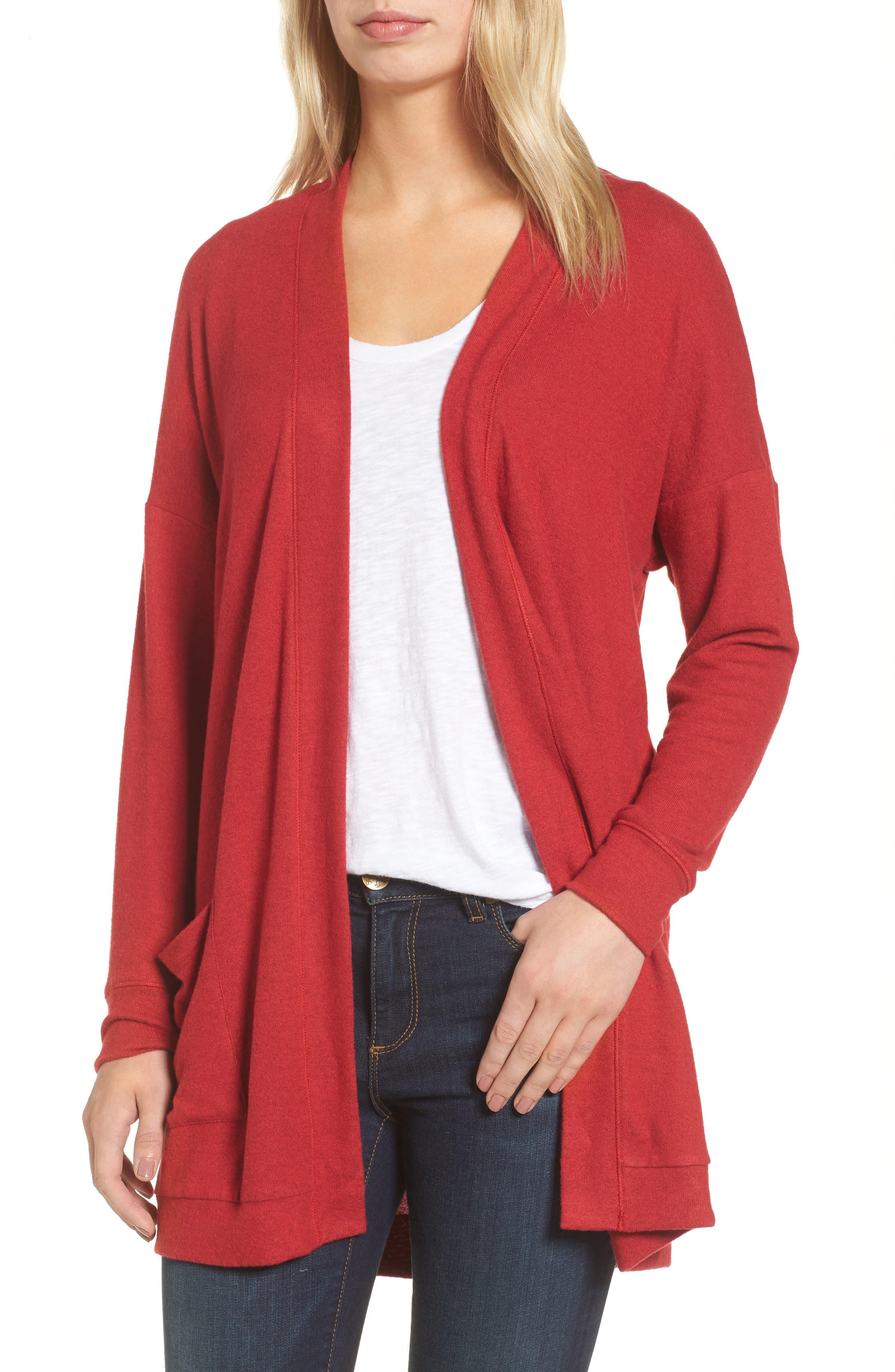 Women's Fleece Cardigan Sweaters | Nordstrom