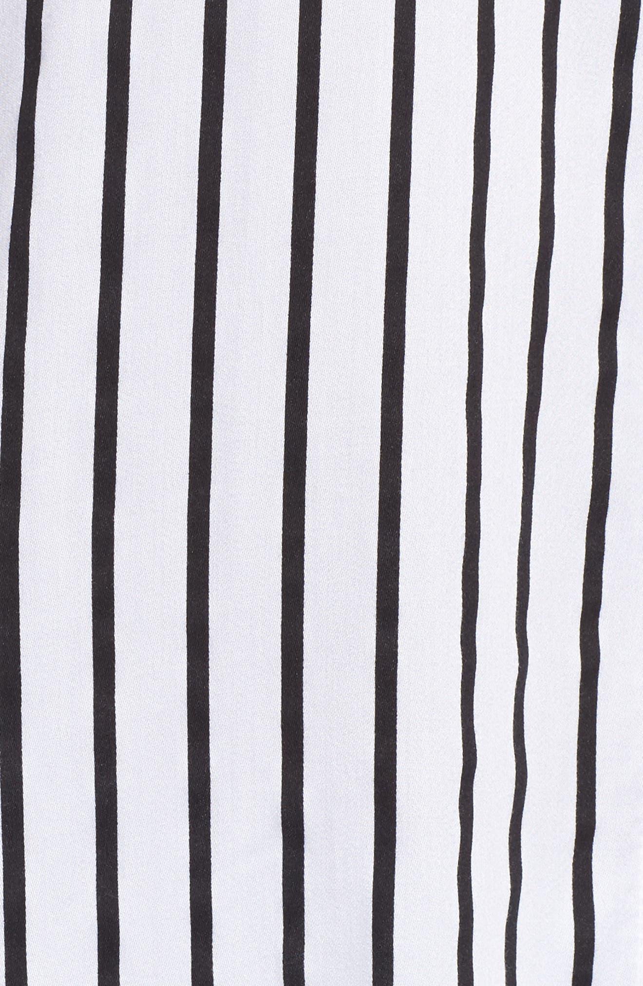 Jersey Pajamas,                             Alternate thumbnail 6, color,                             Ivory