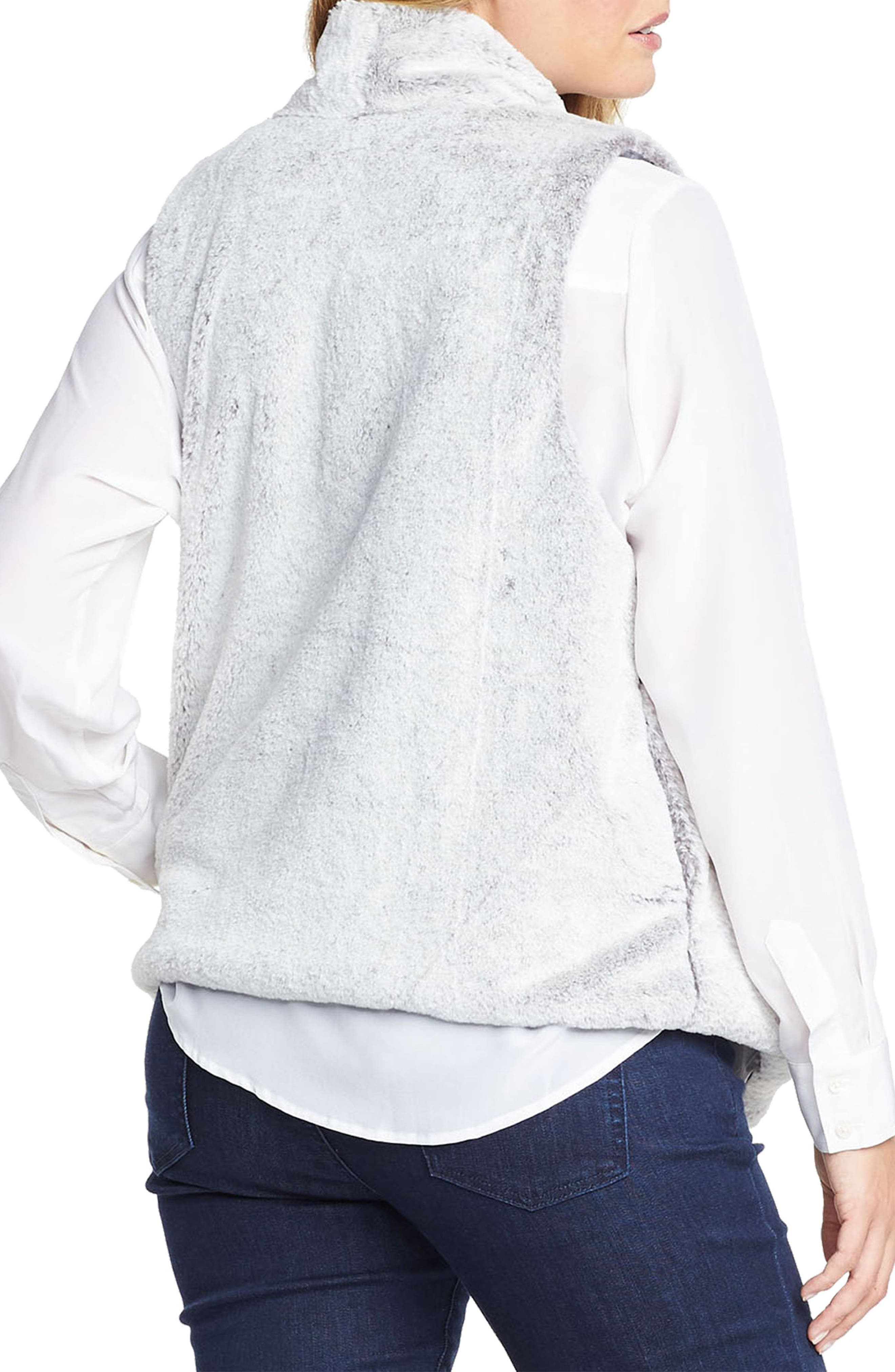Alternate Image 2  - Tart 'Kya' Faux Fur Vest (Plus Size)