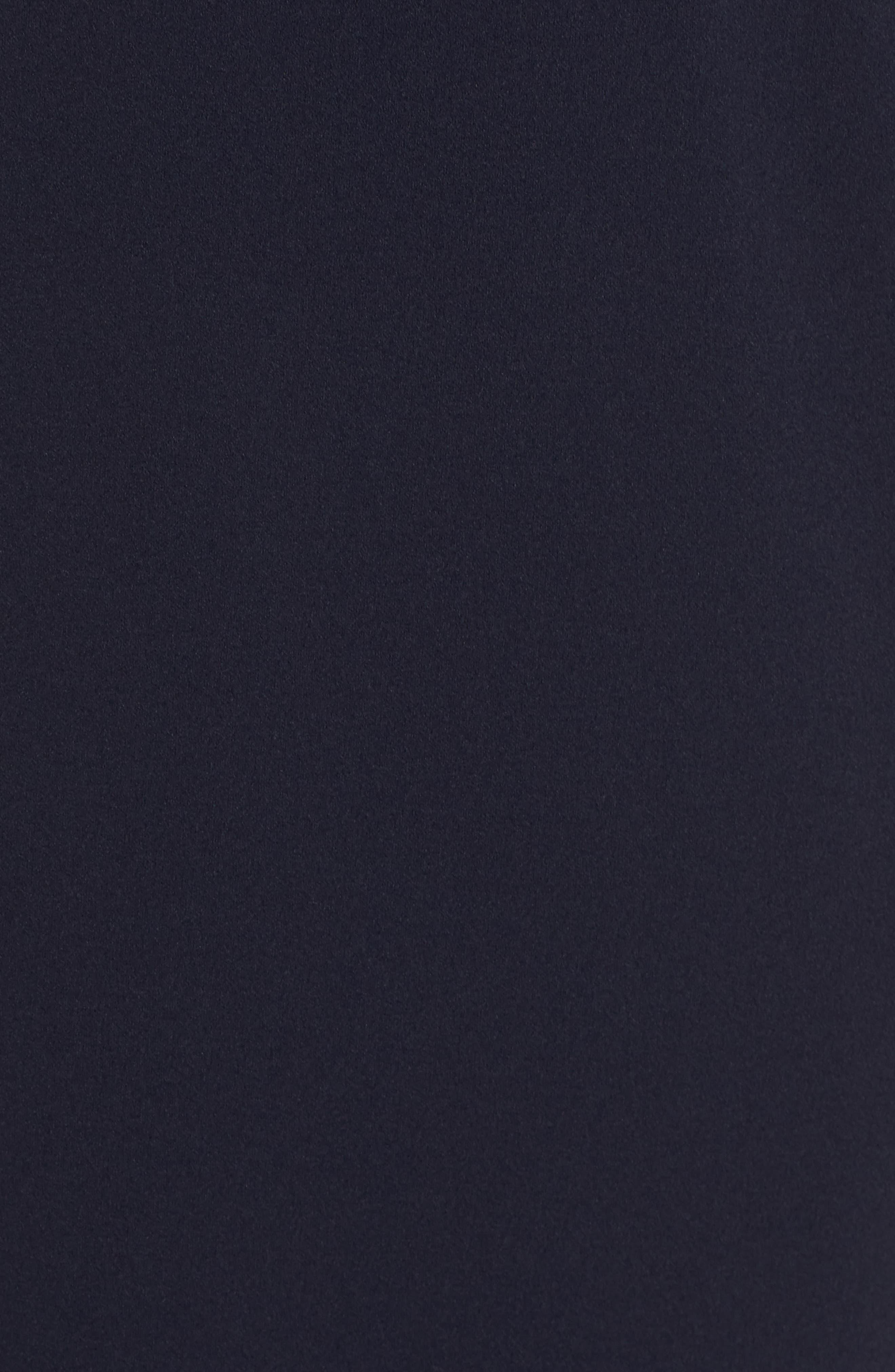Alternate Image 5  - Eliza J One-Shoulder Scuba Crepe Mermaid Gown