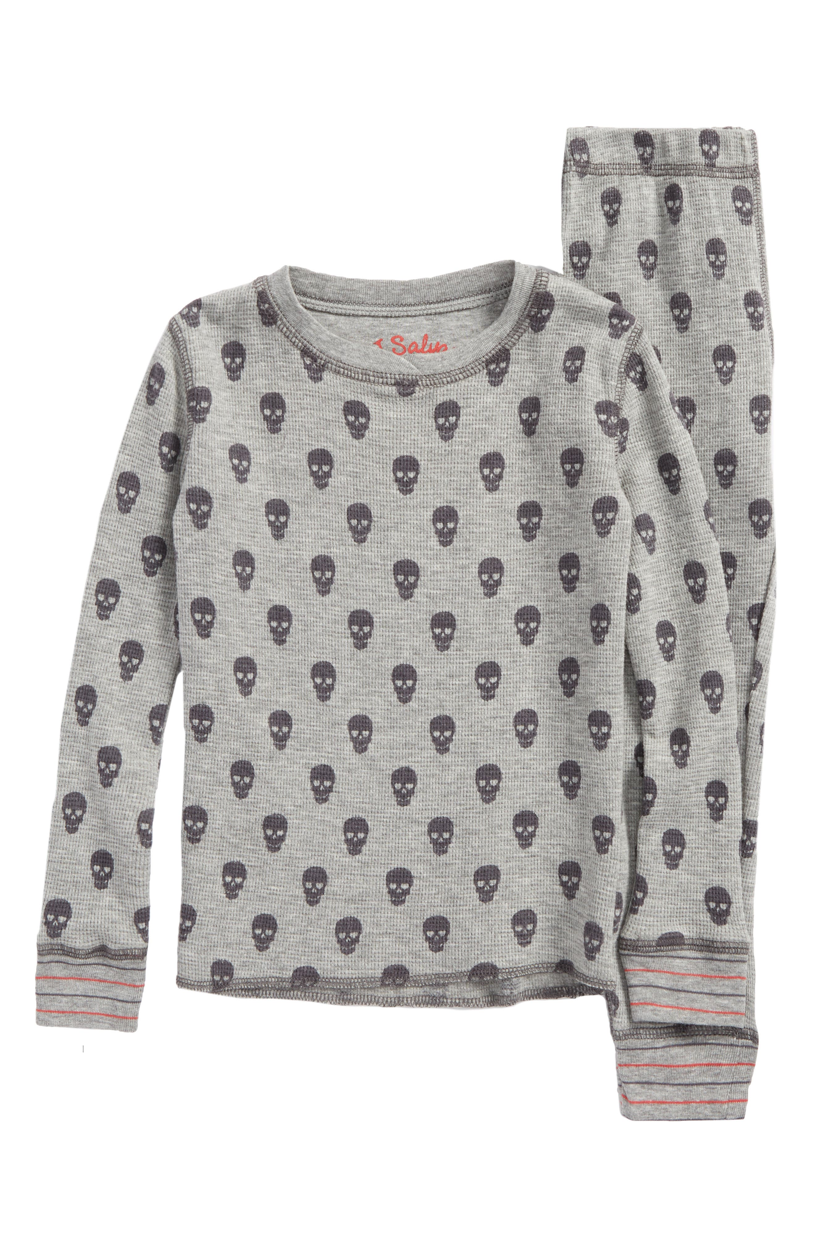 PJ Salvage Two-Piece Fitted Pajamas (Toddler Boys, Little Boys & Big Boys)
