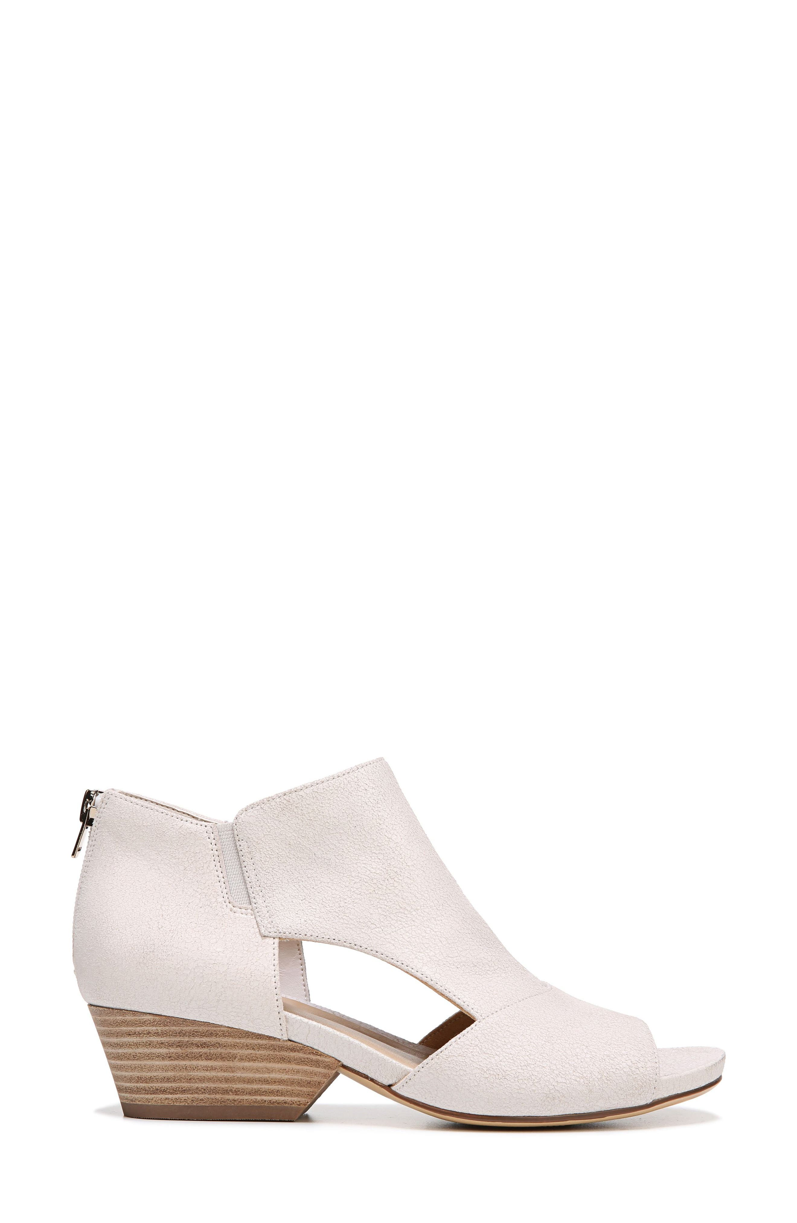 Alternate Image 3  - Naturalizer Greyson Open Toe Bootie (Women)