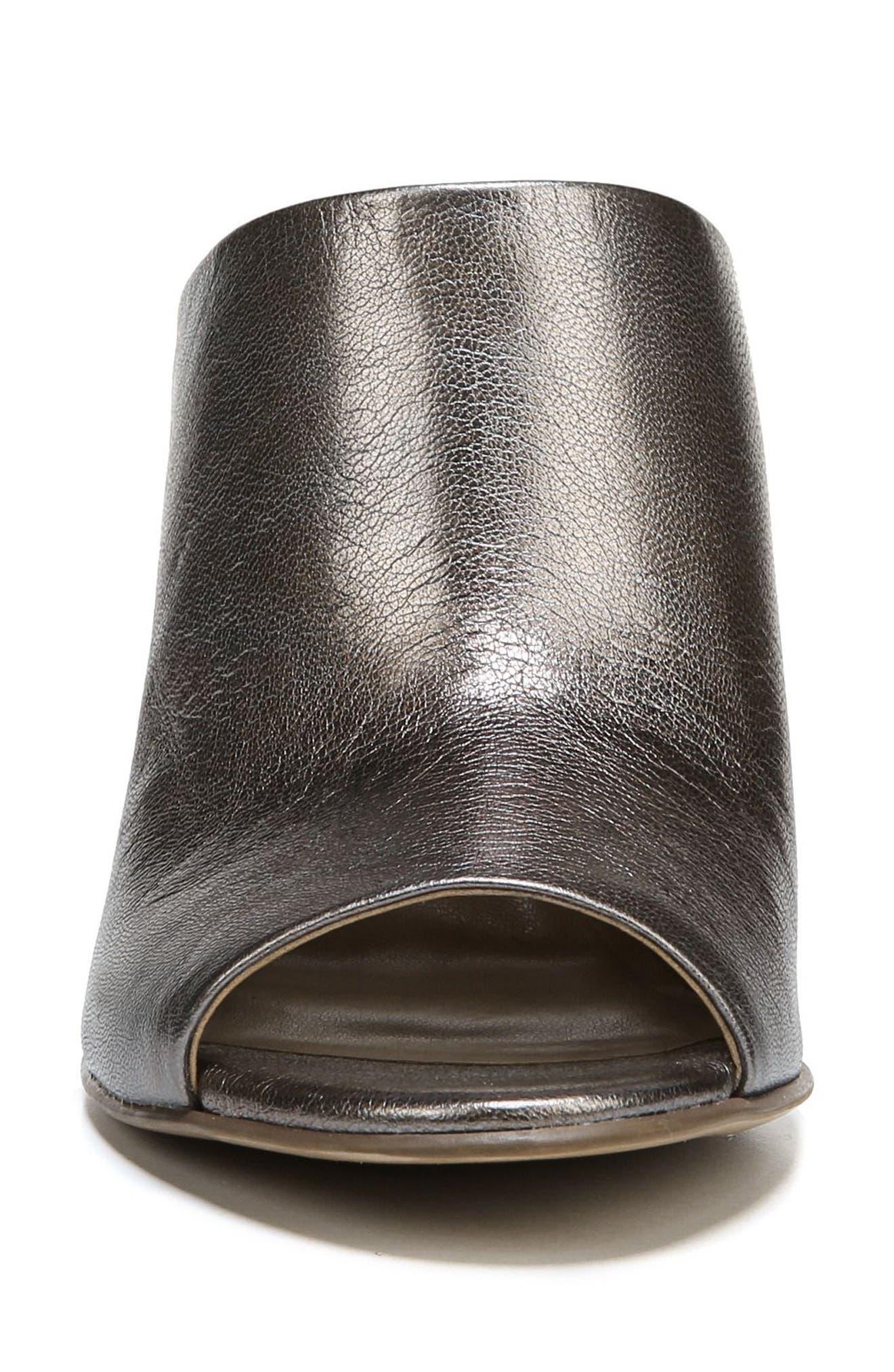 Sloan Sandal,                             Alternate thumbnail 4, color,                             Gunmetal Leather