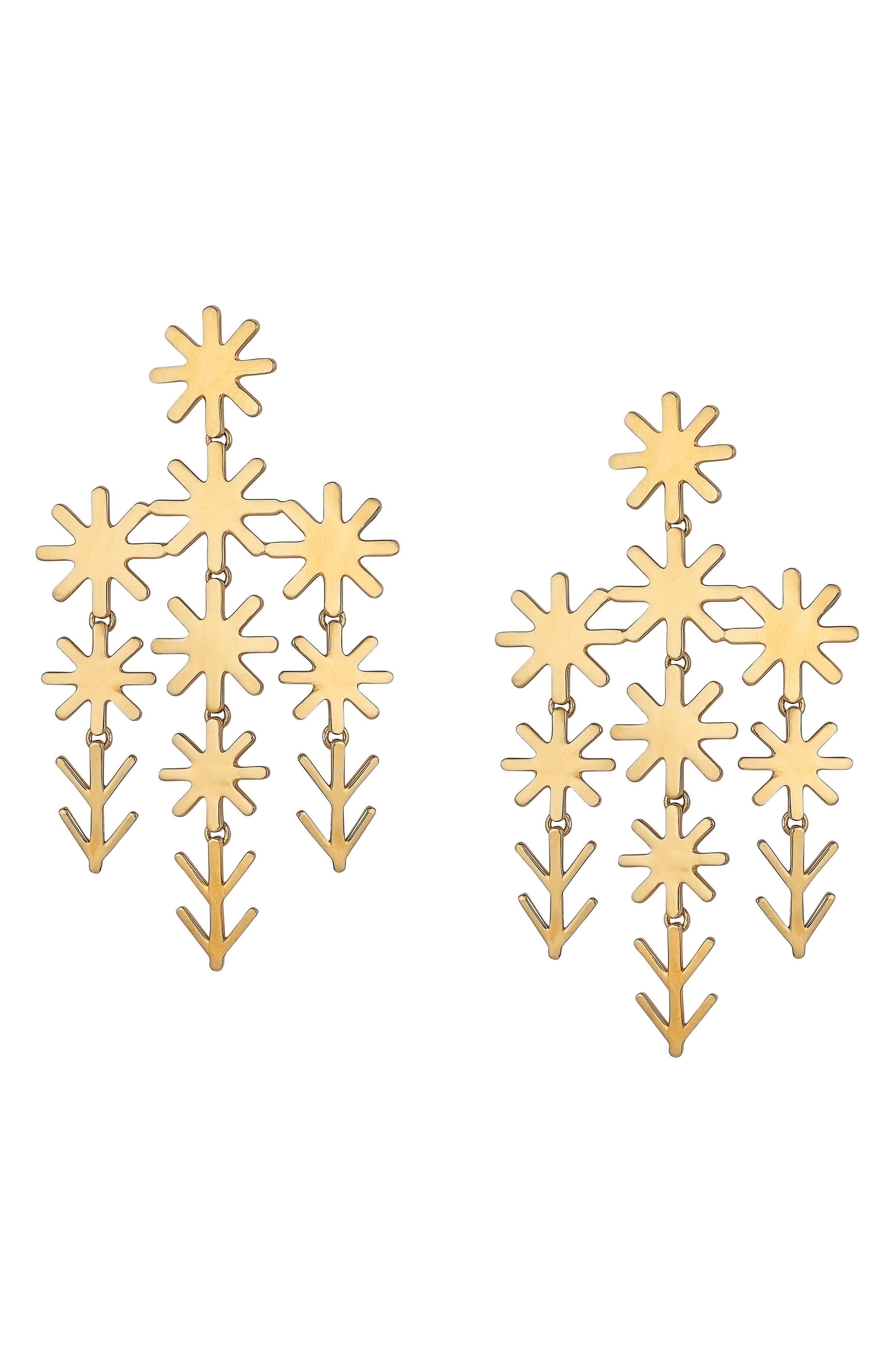 Alternate Image 1 Selected - ASHA Uma Chandelier Earrings
