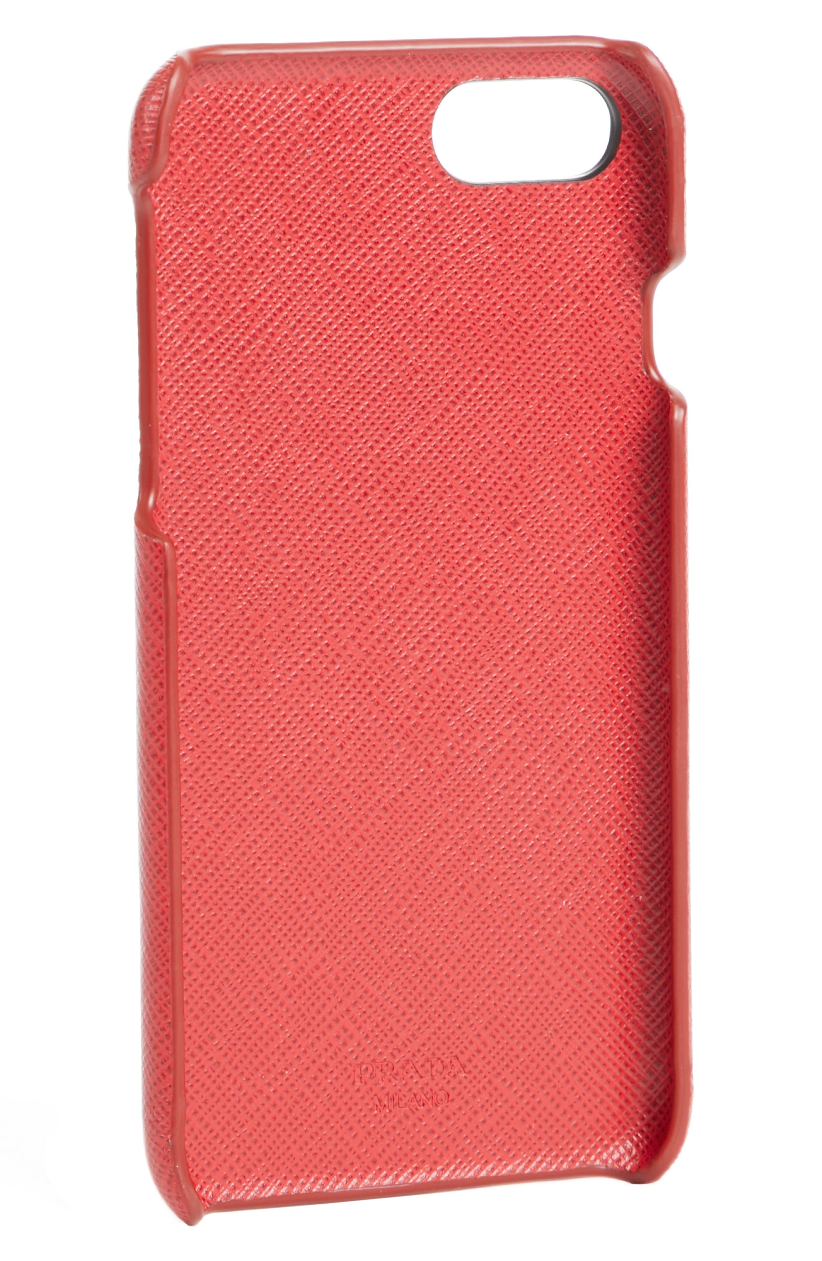 Alternate Image 2  - Prada Saffiano Metal Oro iPhone 7 Case