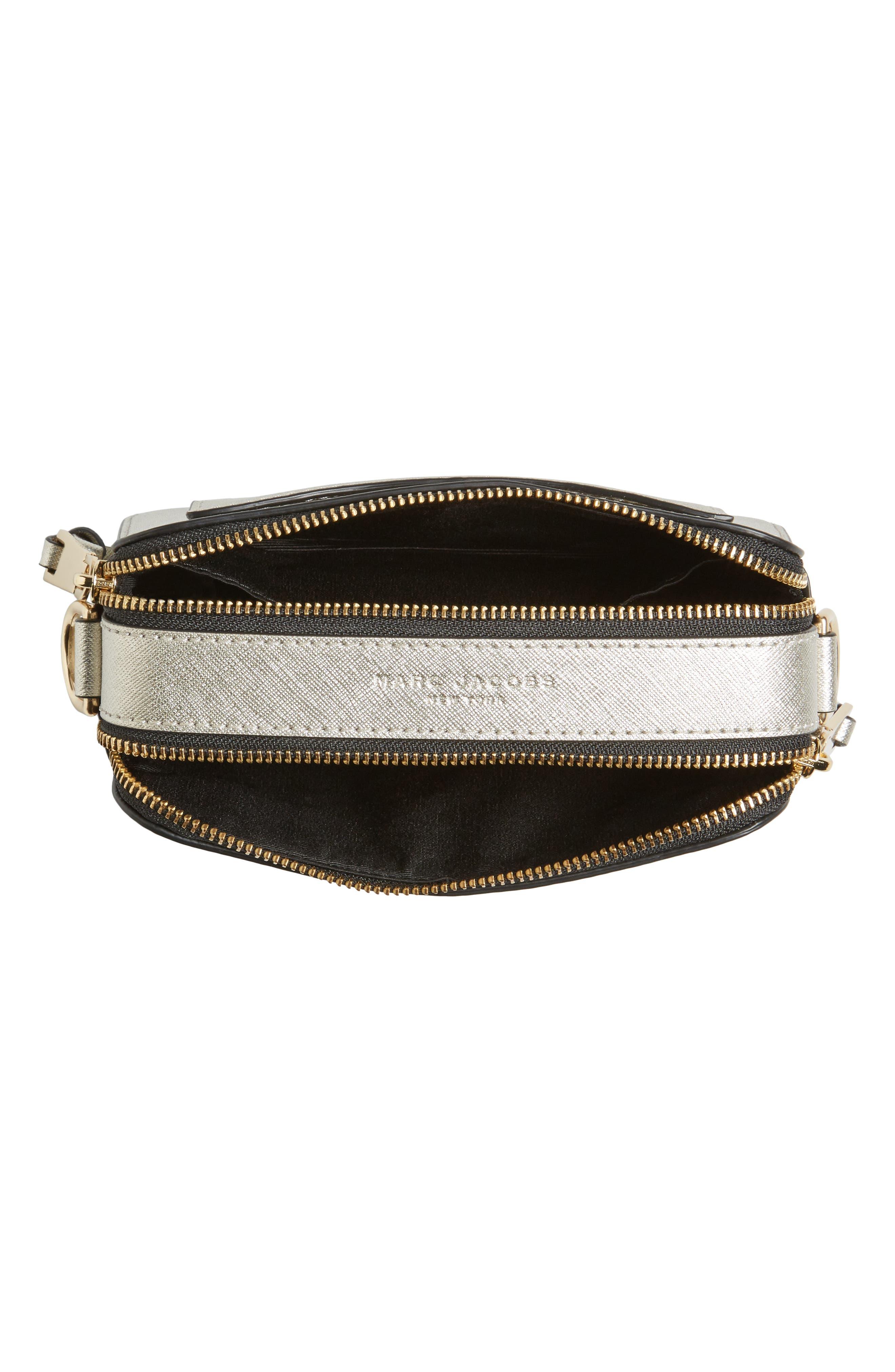 Alternate Image 4  - MARC JACOBS Snapshot Leather Crossbody Bag