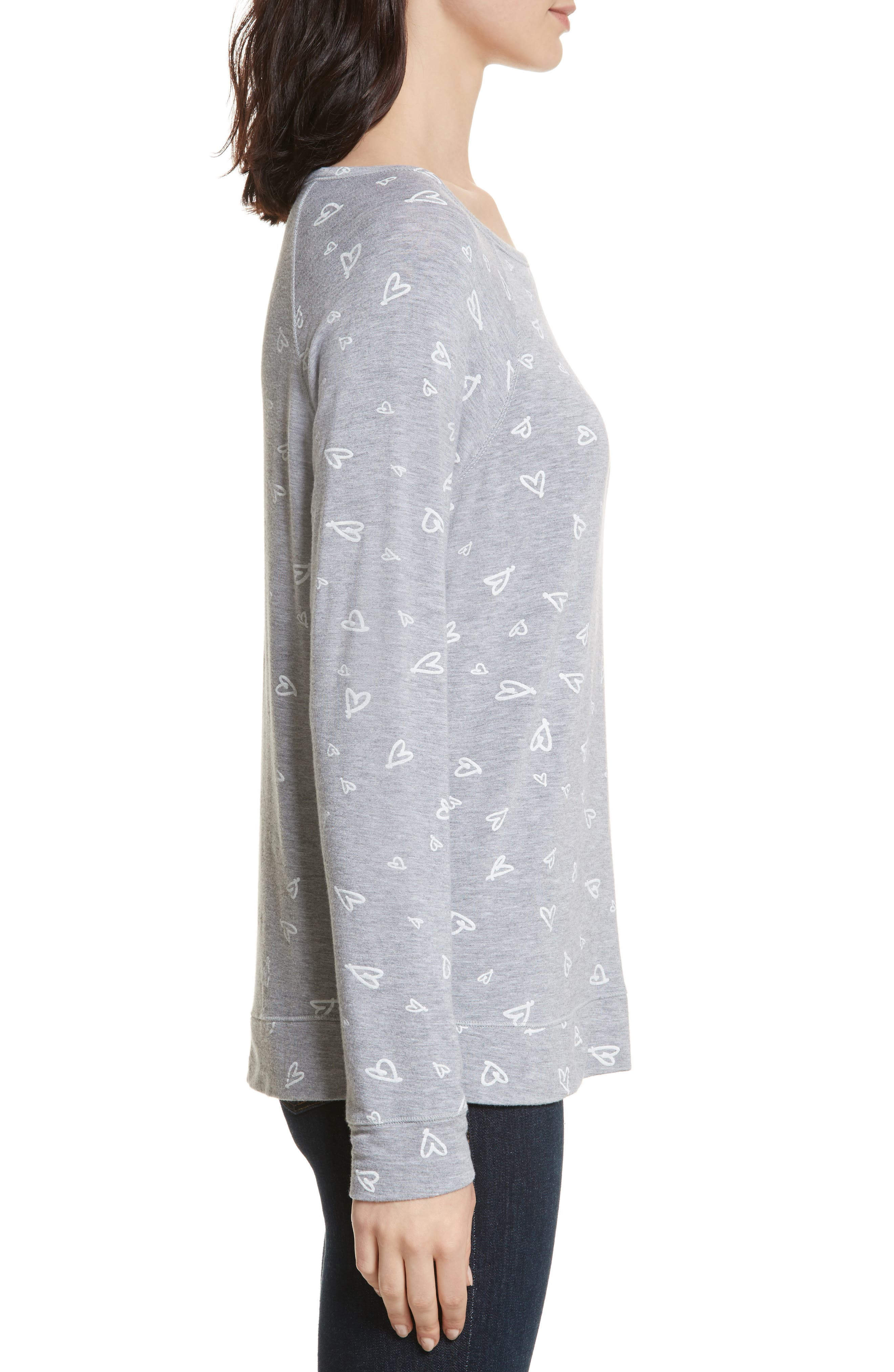 Alternate Image 3  - Joie Annora B Print Cotton & Modal Blend Sweatshirt