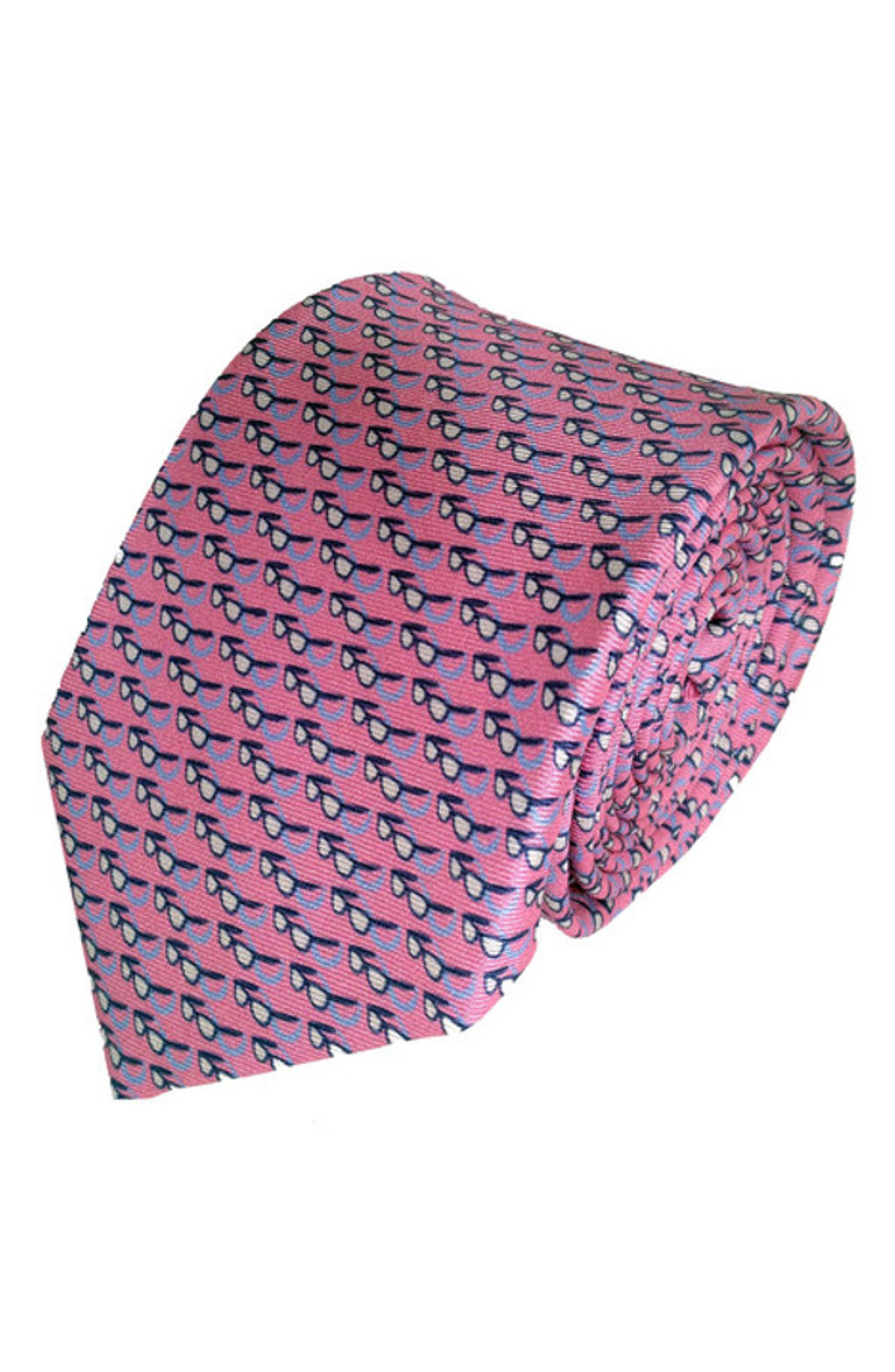 Sweet Shades Silk Tie,                             Main thumbnail 1, color,                             Pink