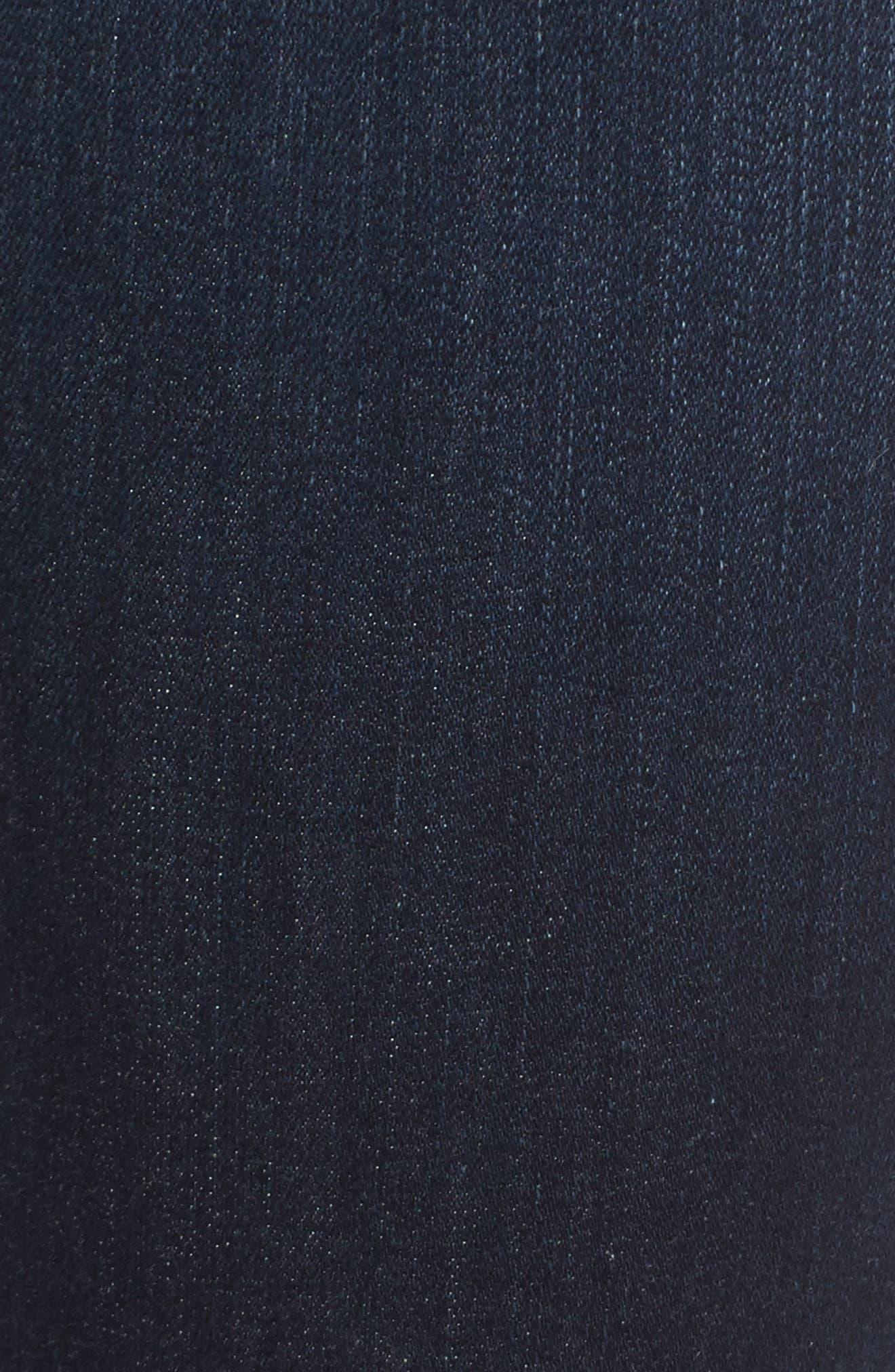 Charlie High Waist Skinny Jeans,                             Alternate thumbnail 5, color,                             Narissa