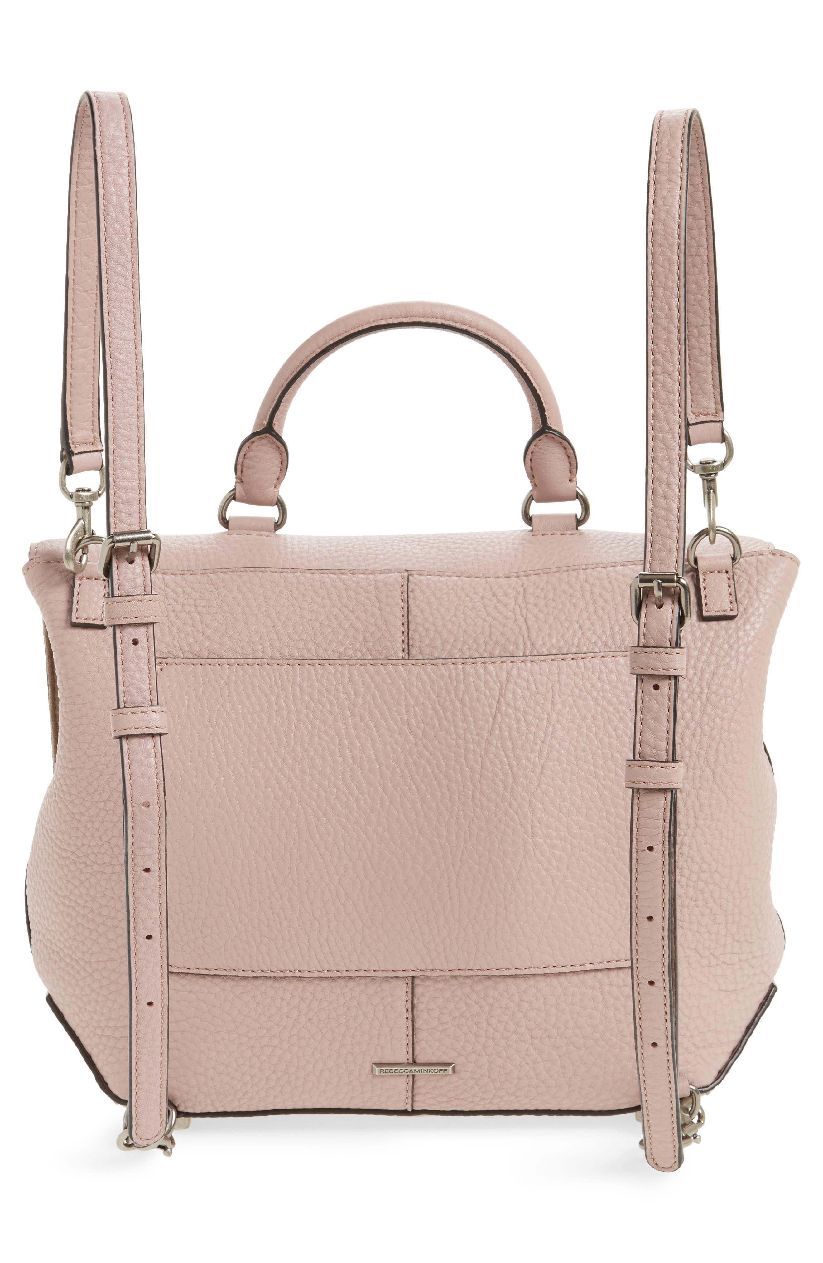 Alternate Image 3  - Rebecca Minkoff Darren Convertible Leather Backpack