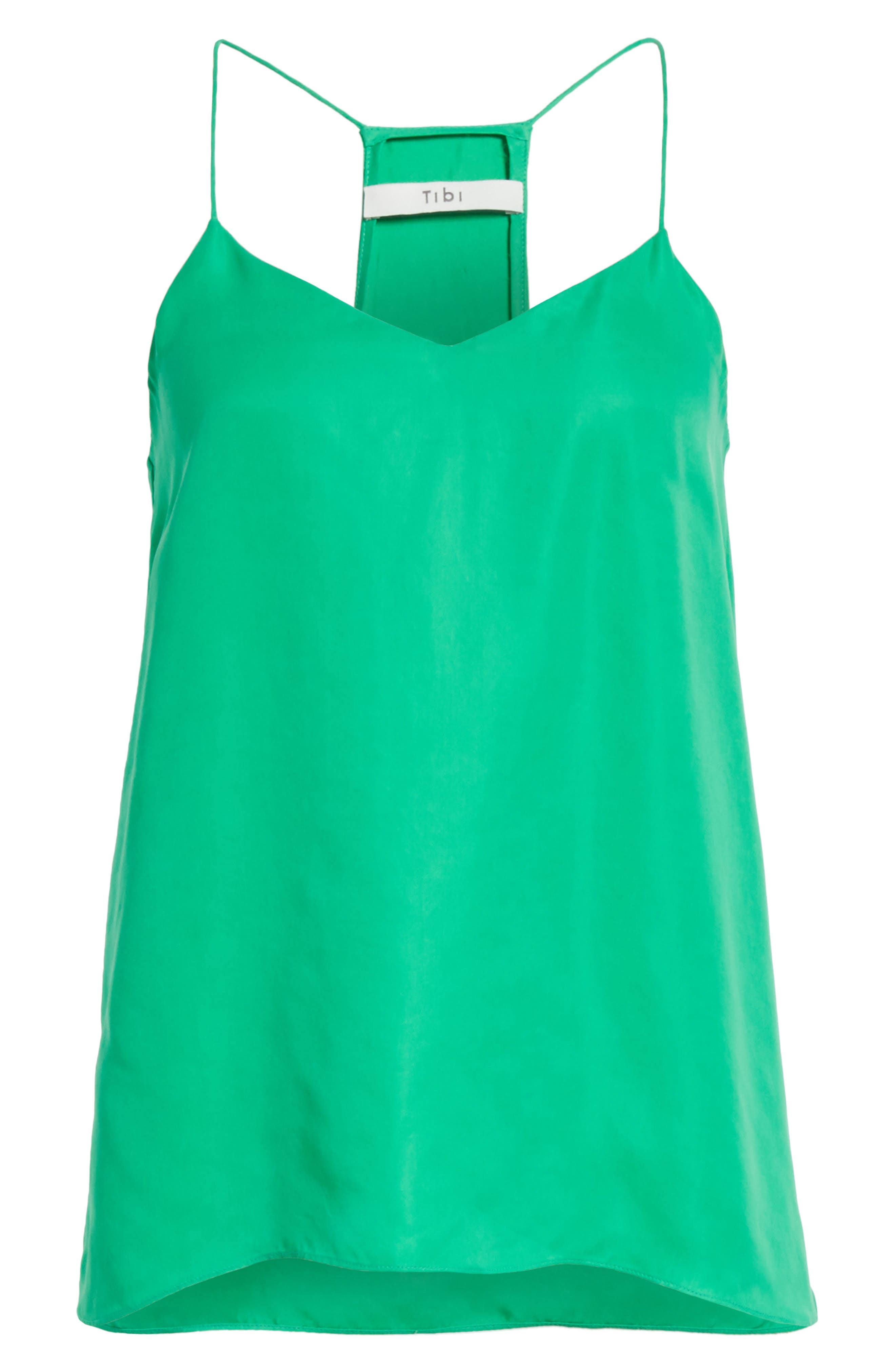 Racerback Camisole,                             Alternate thumbnail 6, color,                             Green