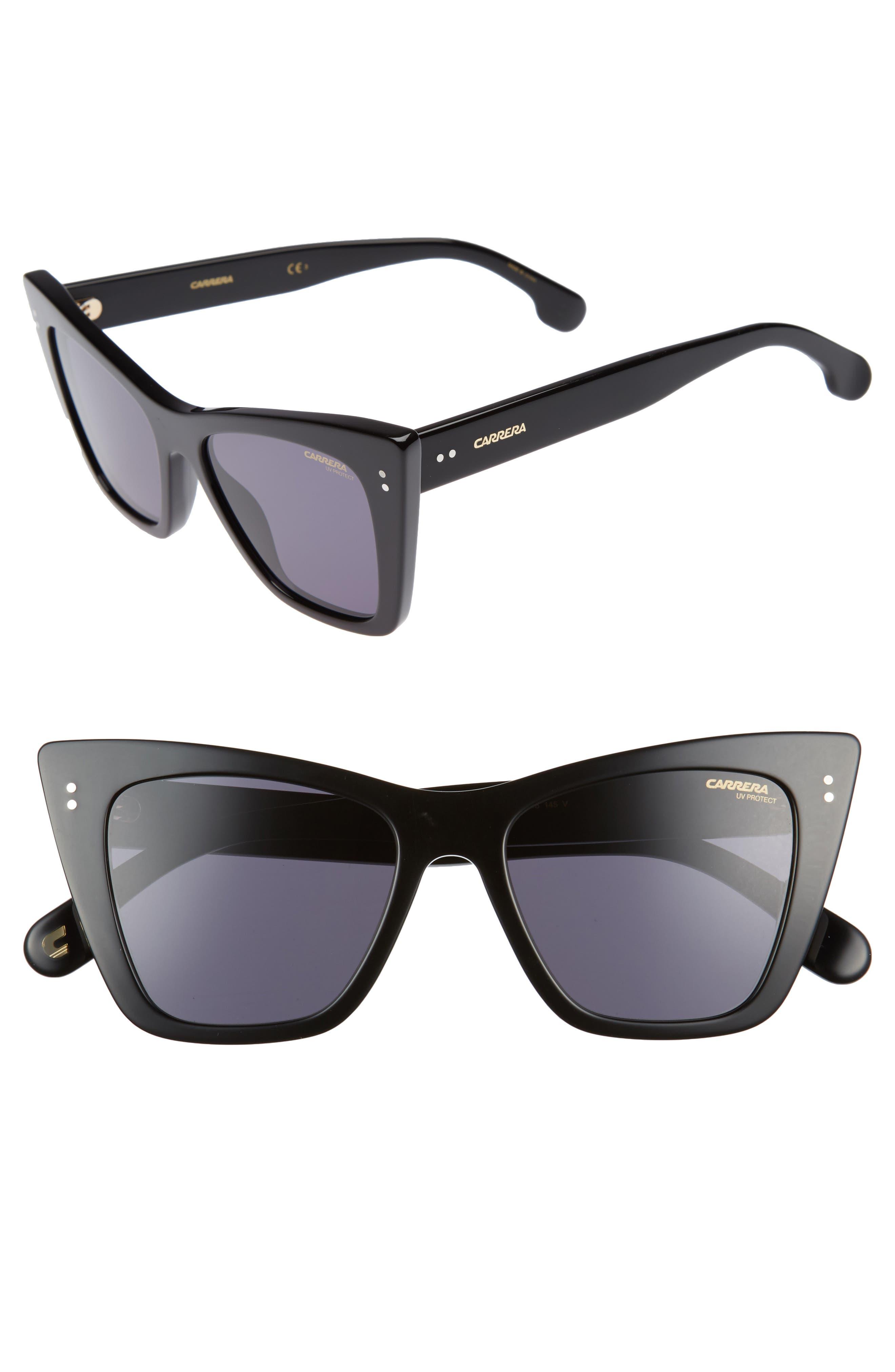 Carrera Eyewear 52mm Cat Eye Sunglasses