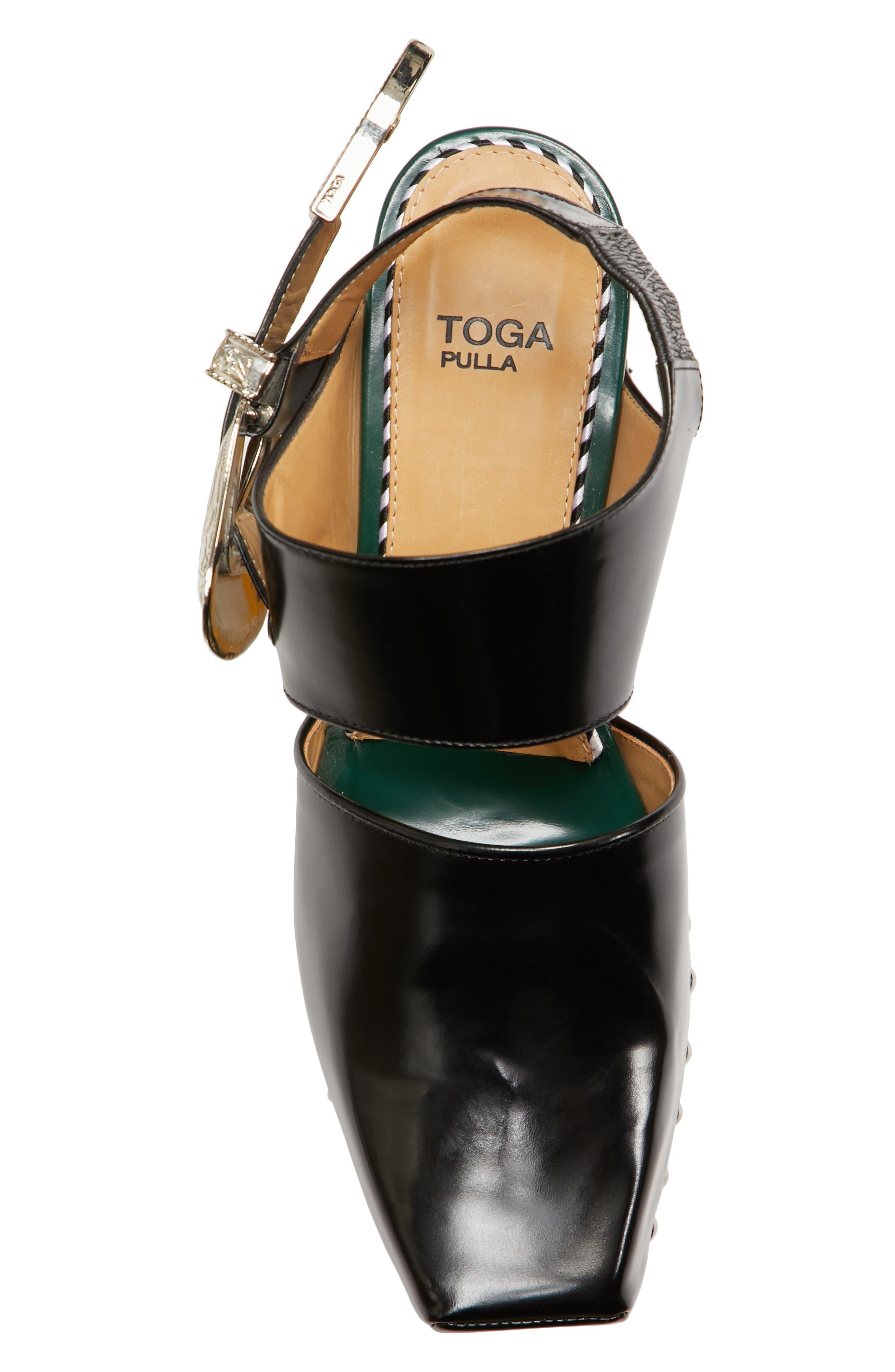 Alternate Image 5  - TOGA PULLA Buckle Embellished Clog (Women)