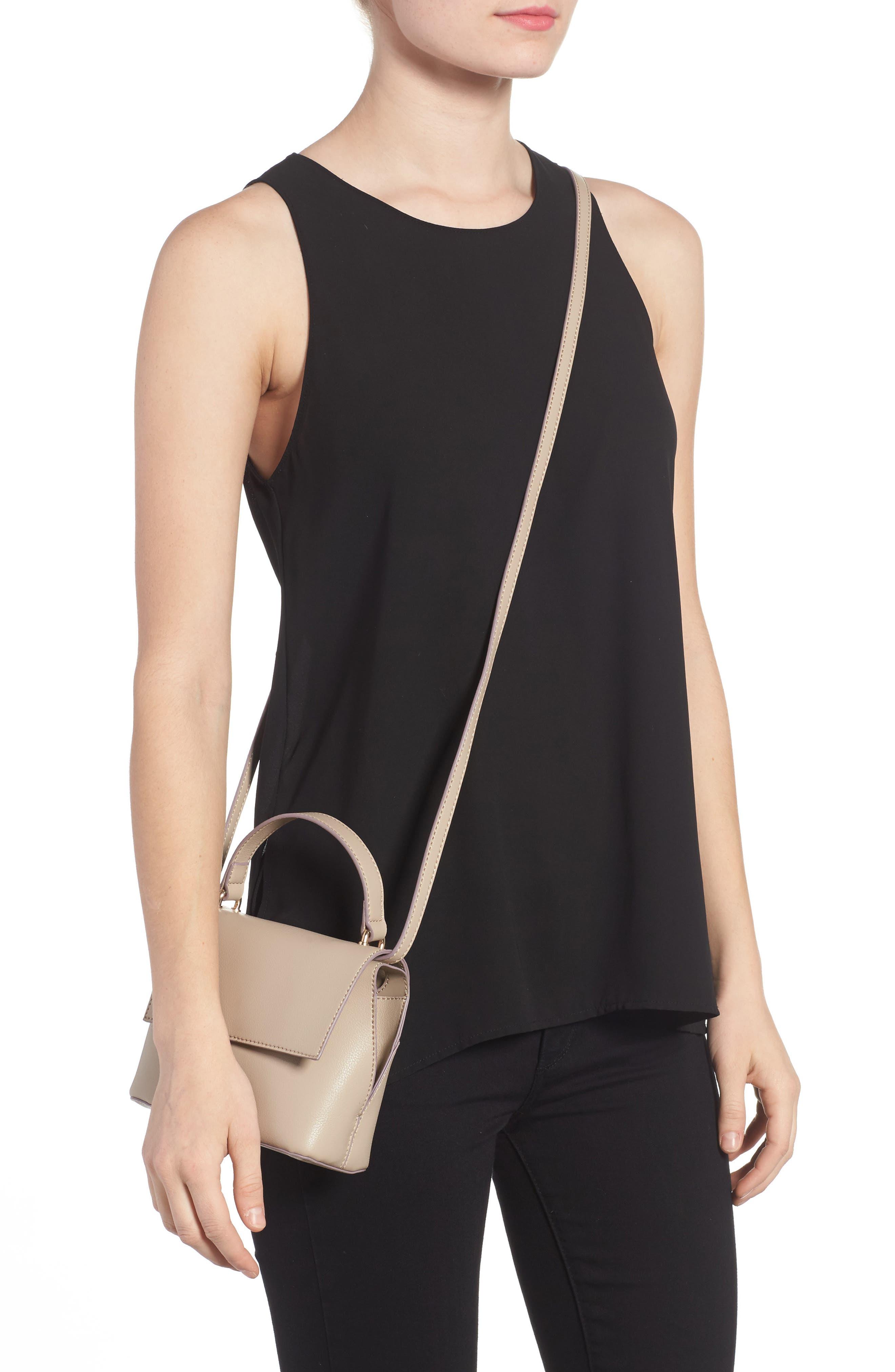 Alternate Image 2  - Sole Society Mini Chino Crossbody Bag