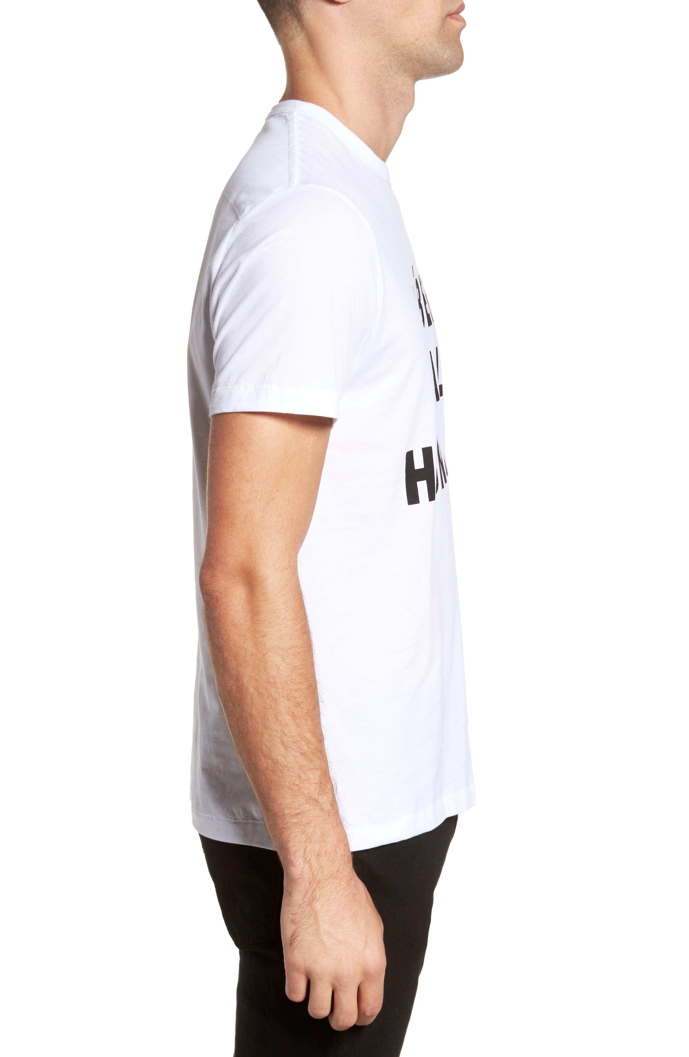 Alternate Image 3  - French Connection Égalité Regular Fit Graphic T-Shirt