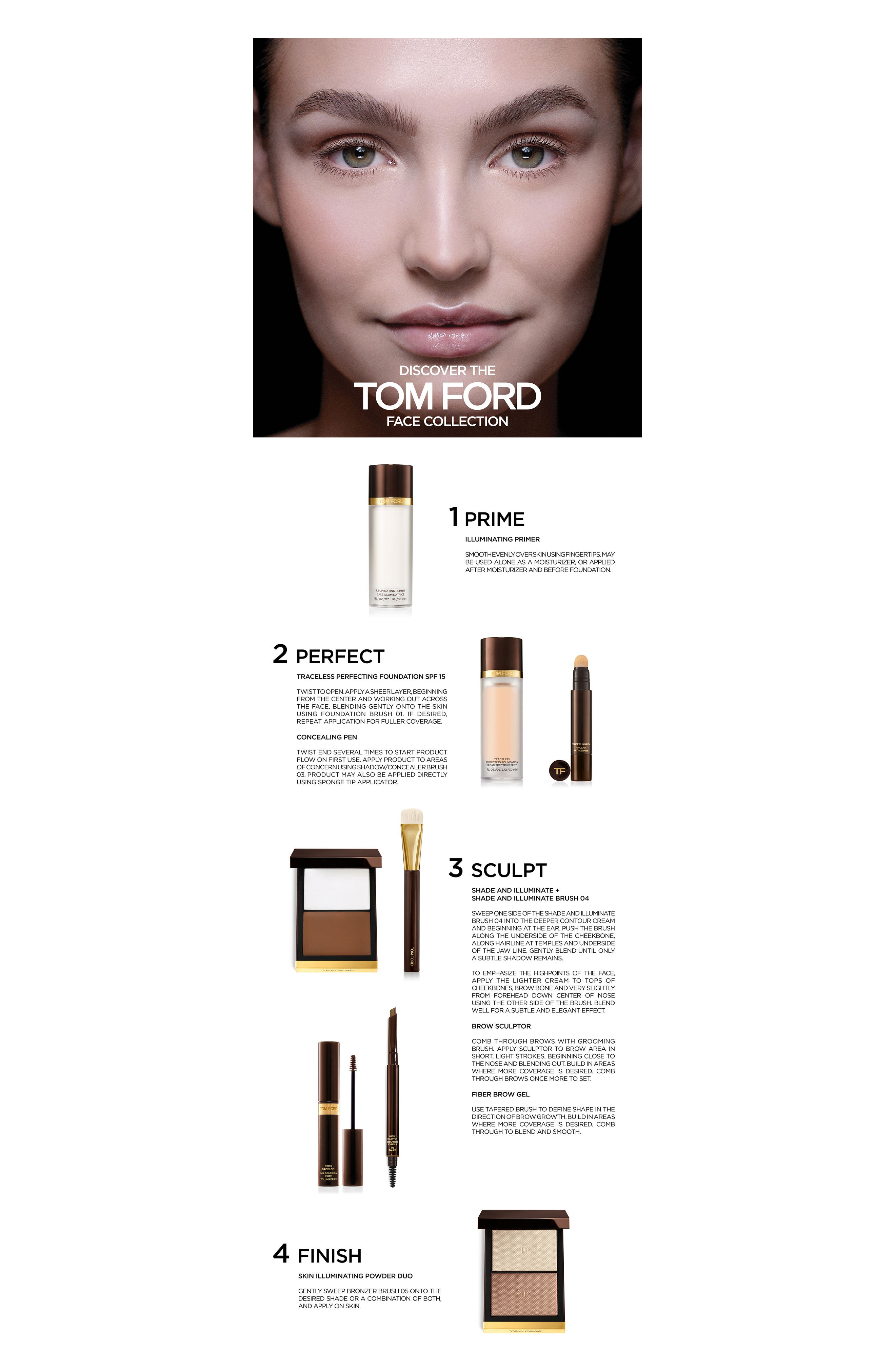 Alternate Image 2  - Tom Ford Traceless Perfecting Foundation SPF 15