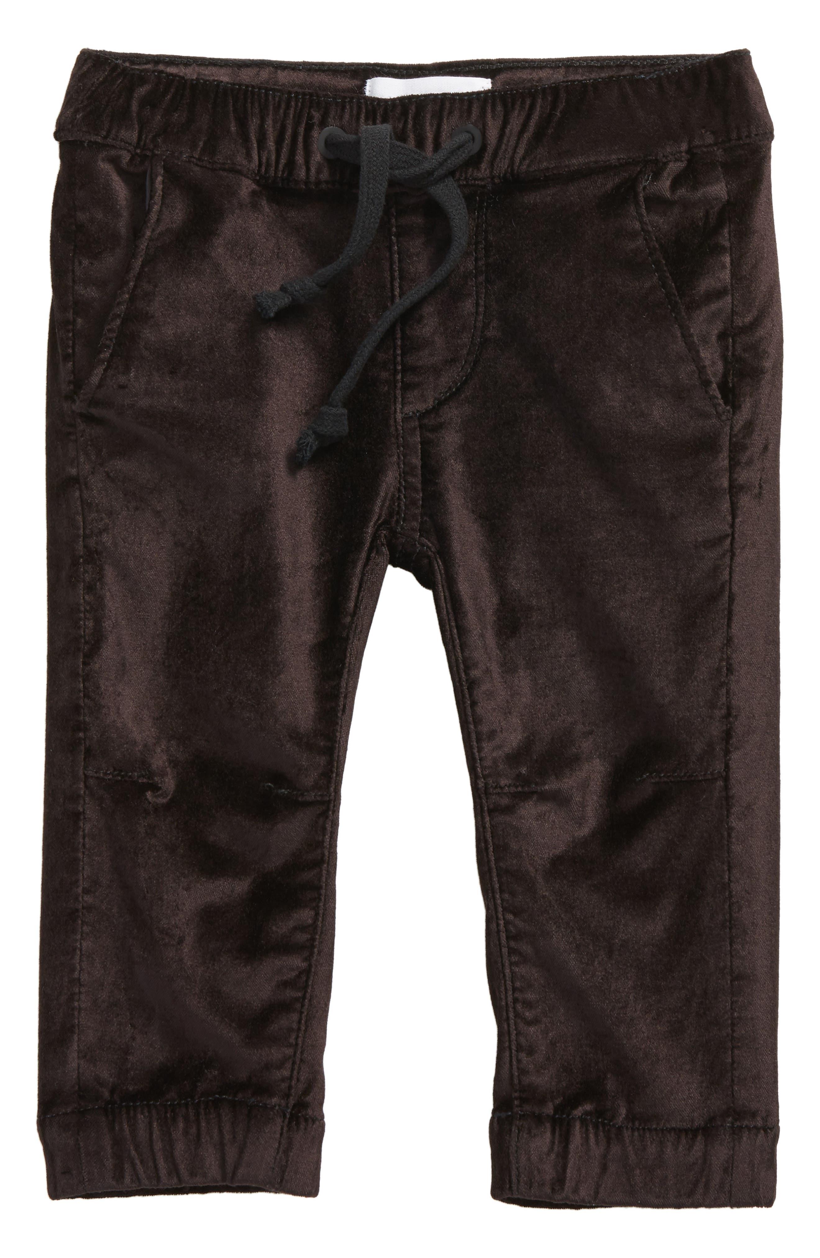 DL1961 Velvet Jogger Pants (Baby Girls)