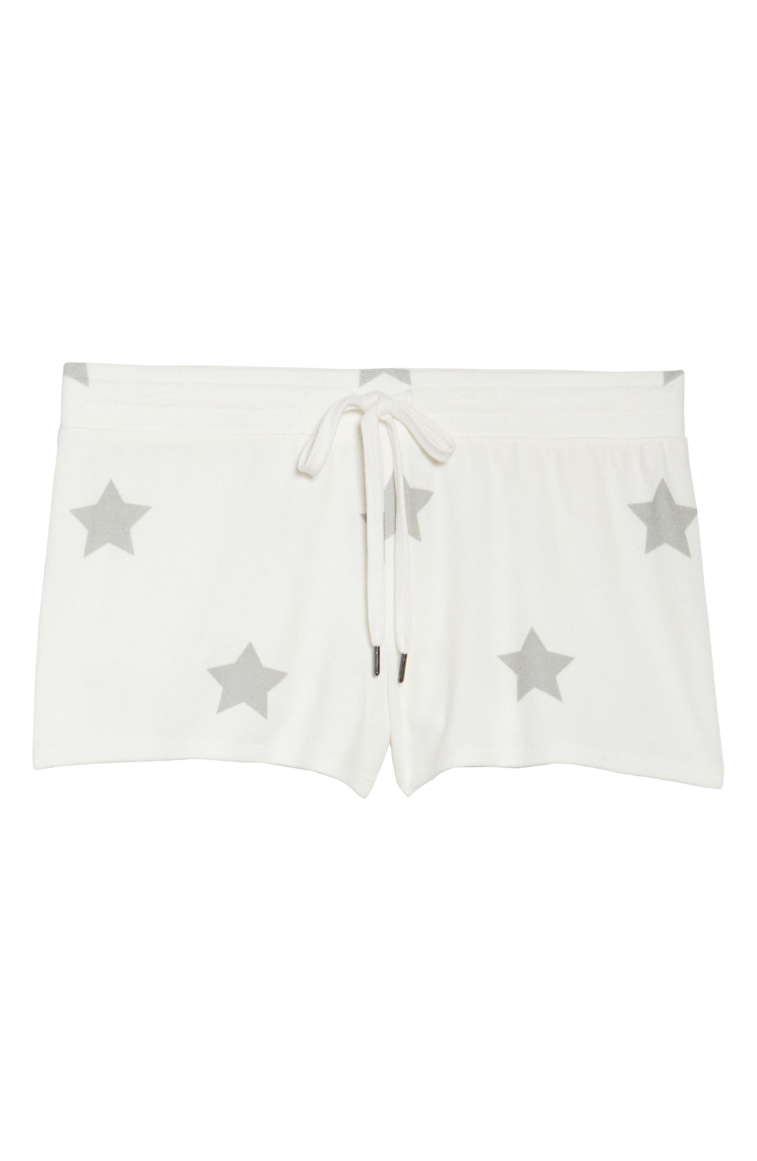 Alternate Image 4  - PJ Salvage Star Lounge Shorts