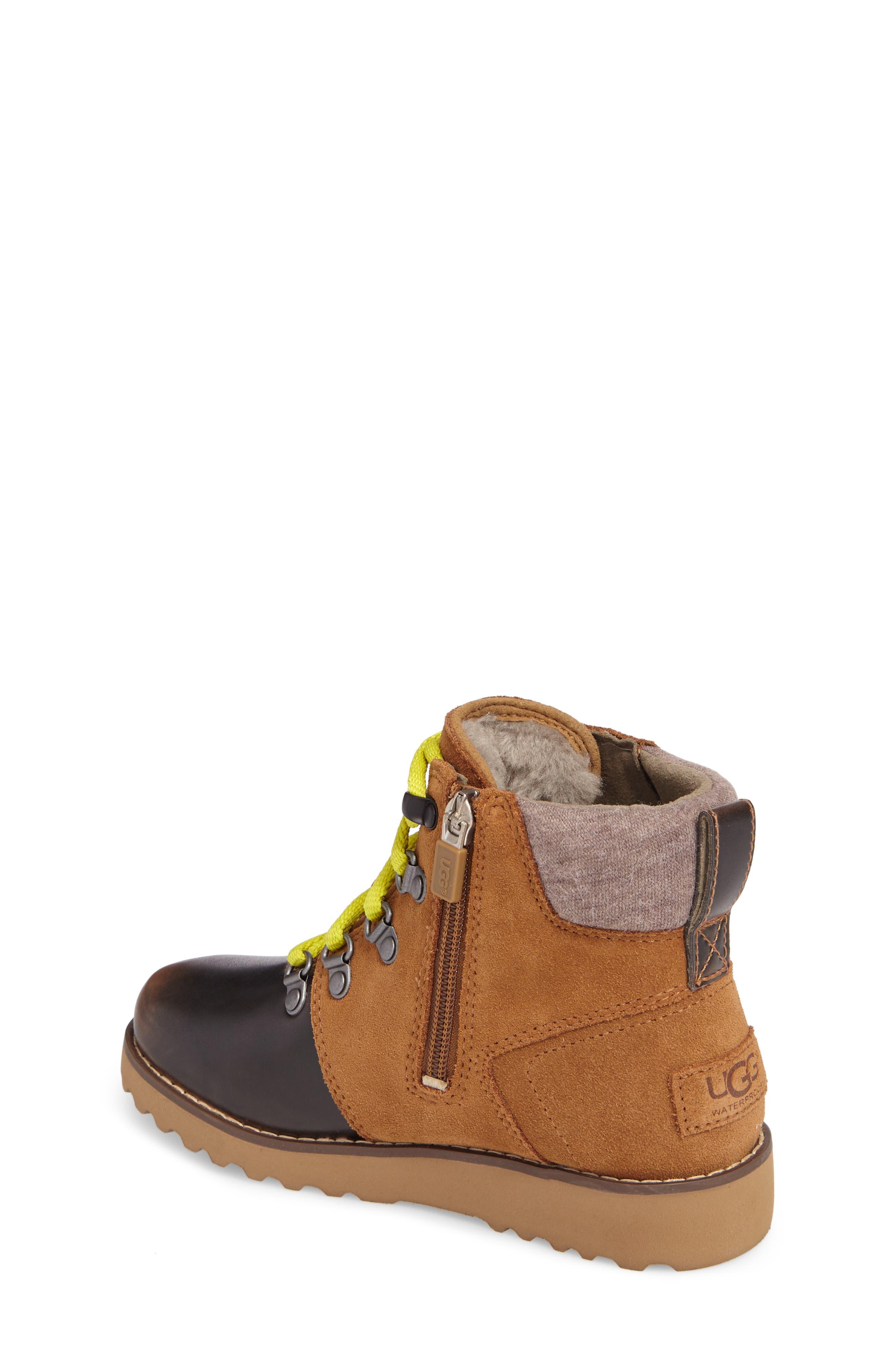Alternate Image 2  - UGG® Hilmar Waterproof Winter Hiking Boot (Toddler, Little Kid & Big Kid)