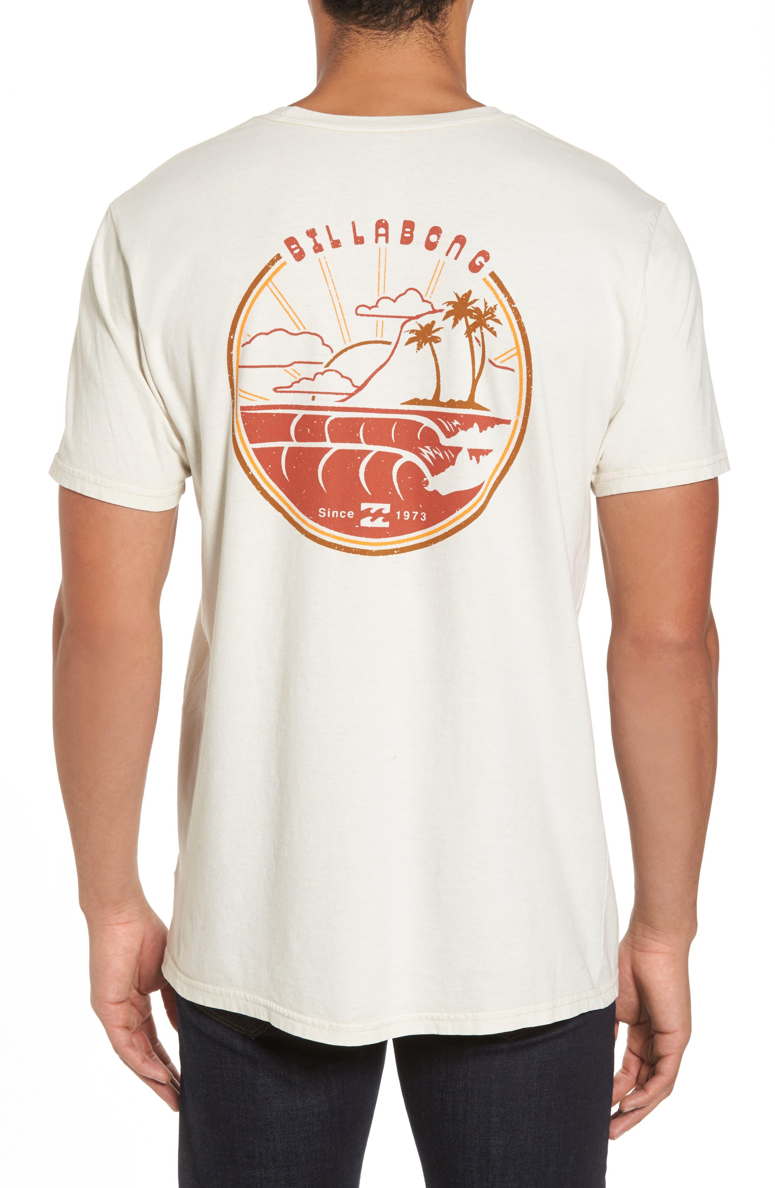 Alternate Image 2  - Billabong Single Fin Graphic T-Shirt
