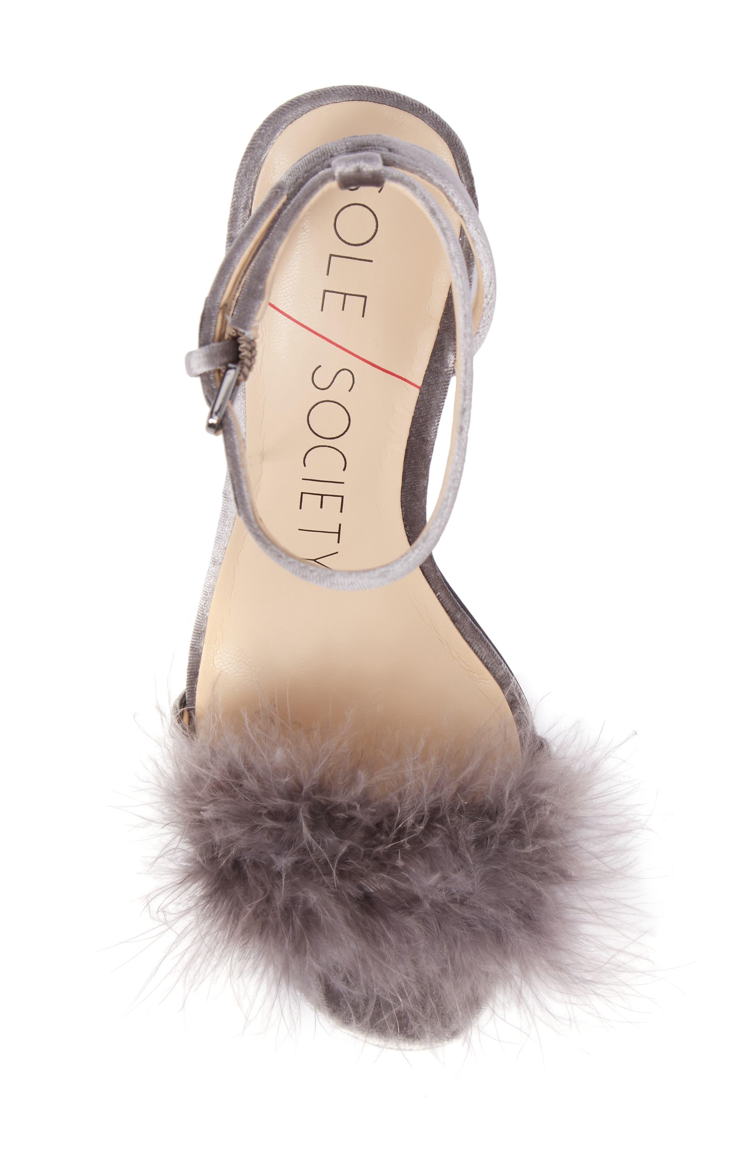 Alternate Image 5  - Sole Society Lindzay Feather Sandal (Women)