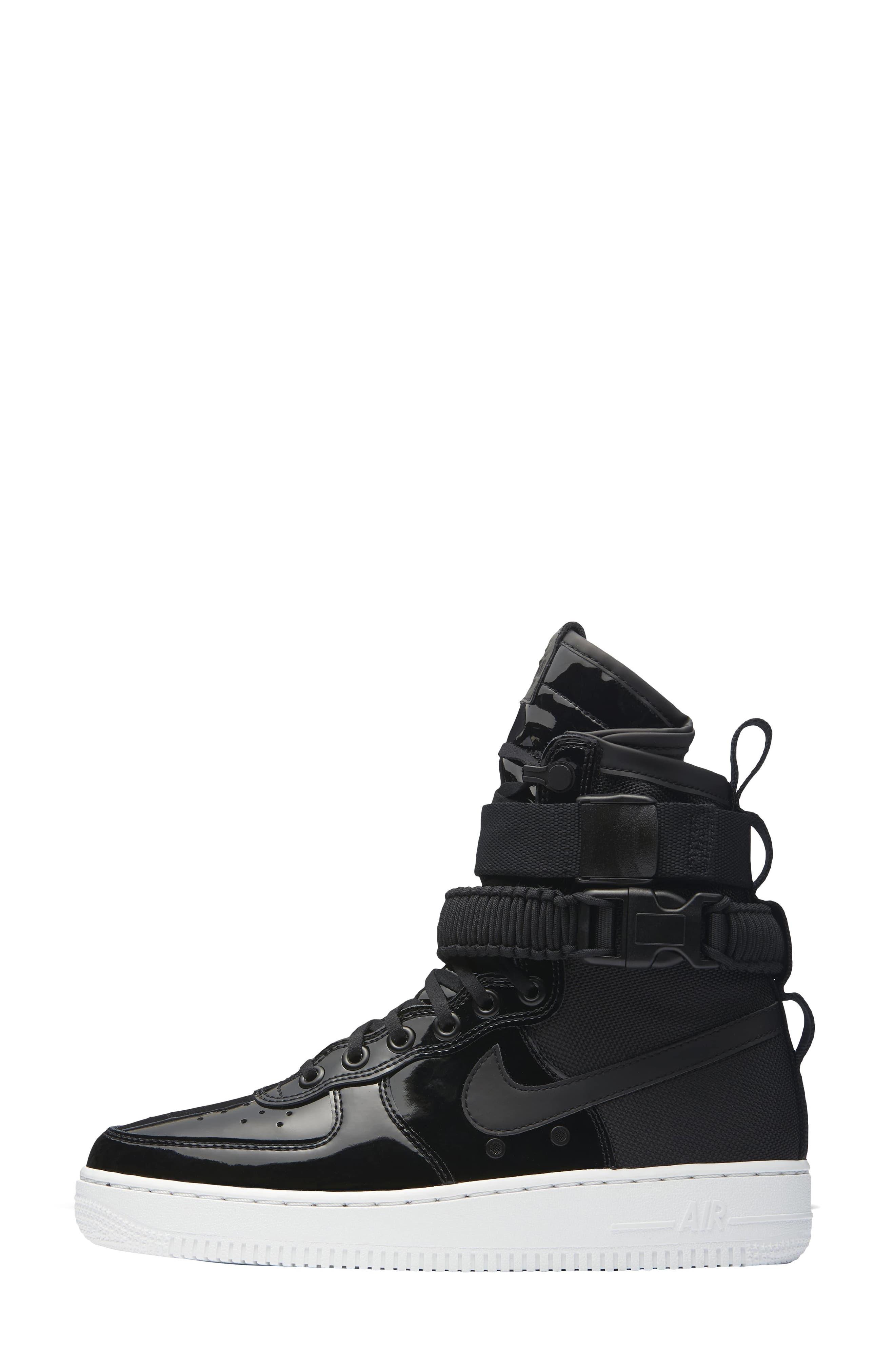 Alternate Image 2  - Nike SF Air Force 1 High Top Sneaker (Women)