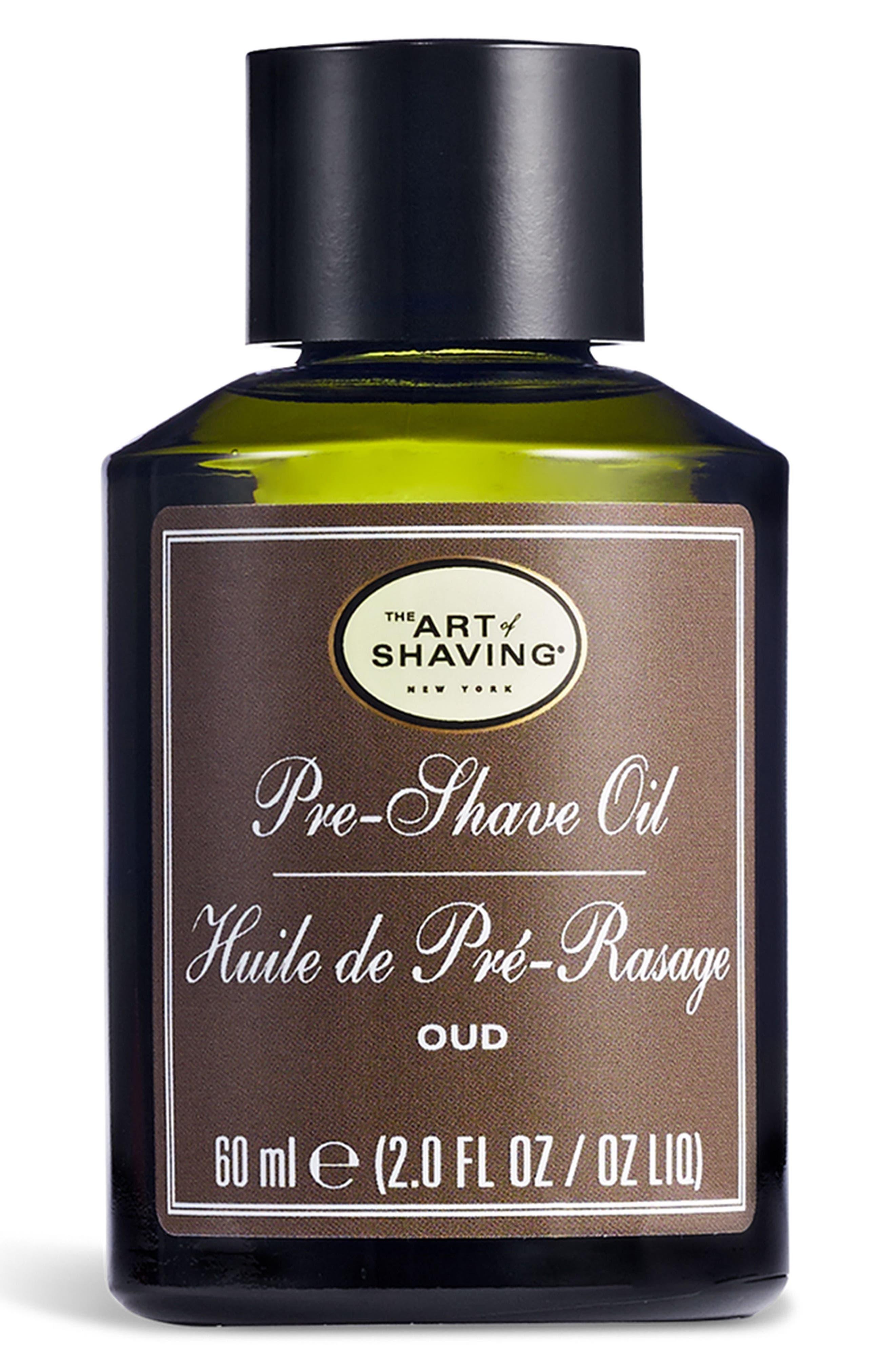 Oud Pre-Shave Oil,                             Main thumbnail 1, color,                             No Color