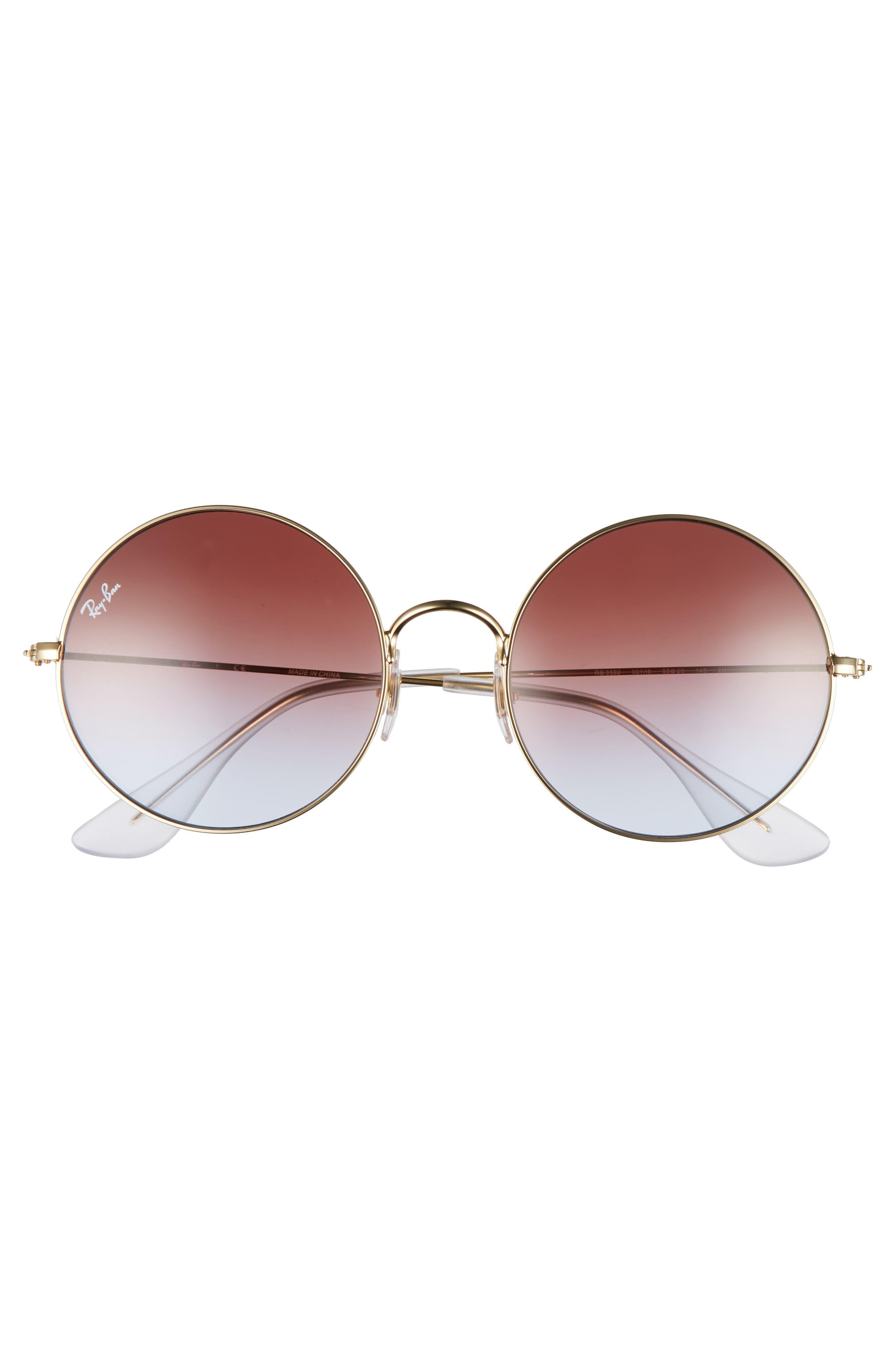 Alternate Image 3  - Ray-Ban The Ja-Jo 54mm Round Sunglasses