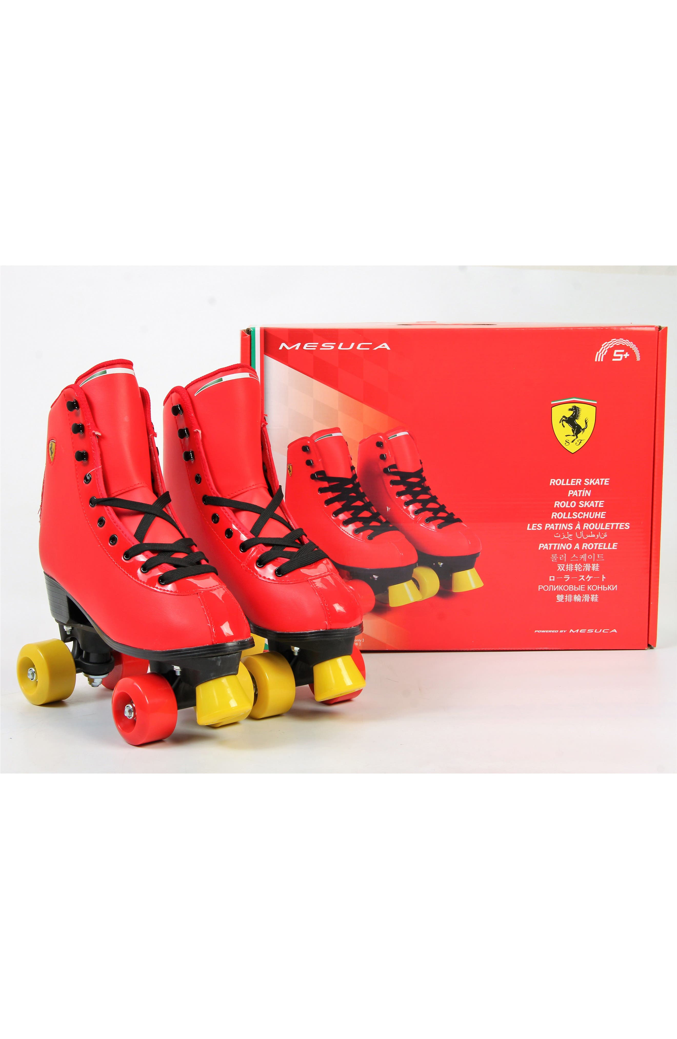Classic Roller Skates,                             Alternate thumbnail 6, color,                             Ferrari Red