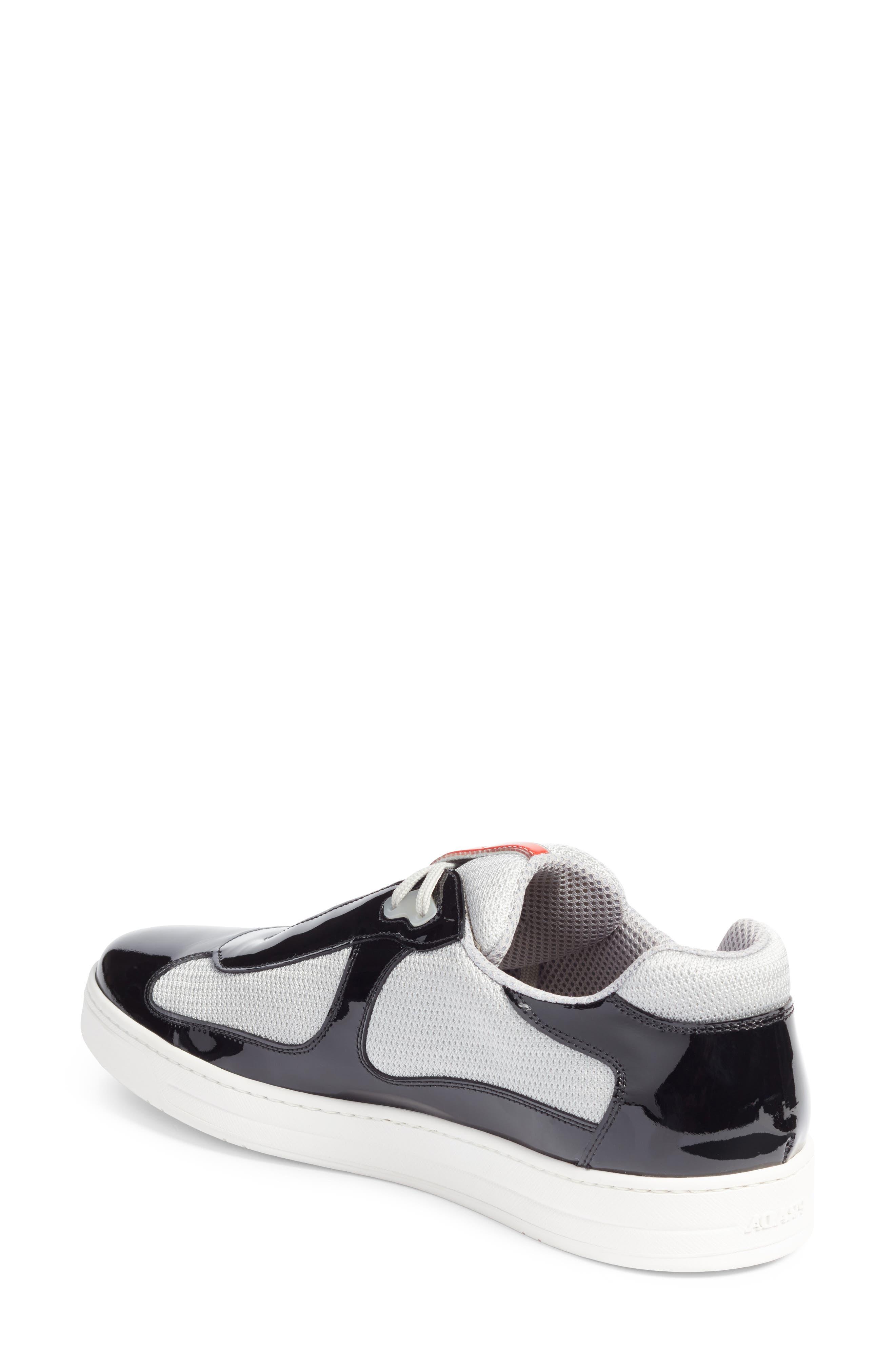 Linea Rossa New America's Cup Sneaker,                             Alternate thumbnail 2, color,                             Nero Argento