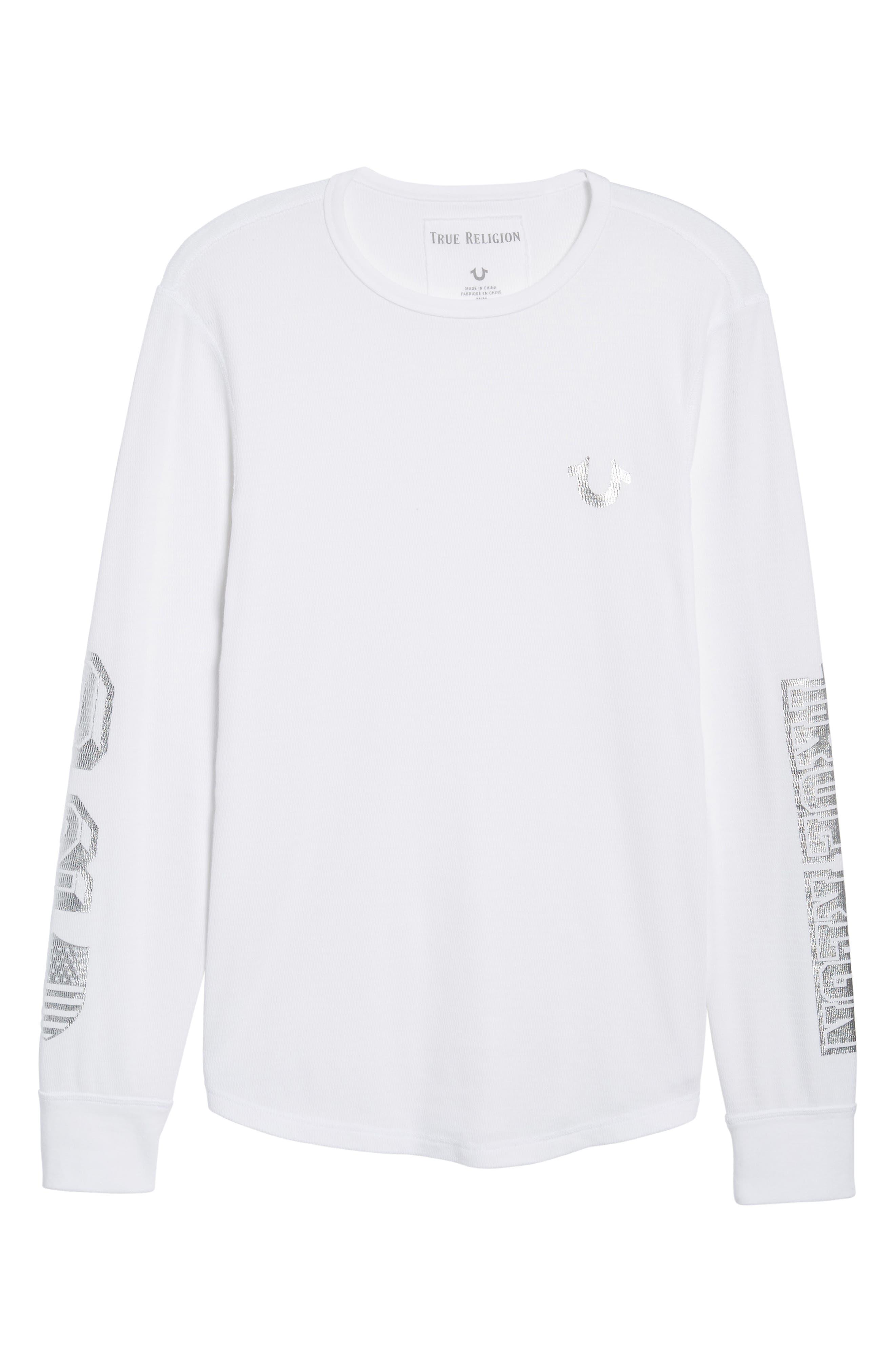 Alternate Image 6  - True Religion Brand Jeans Thermal T-Shirt