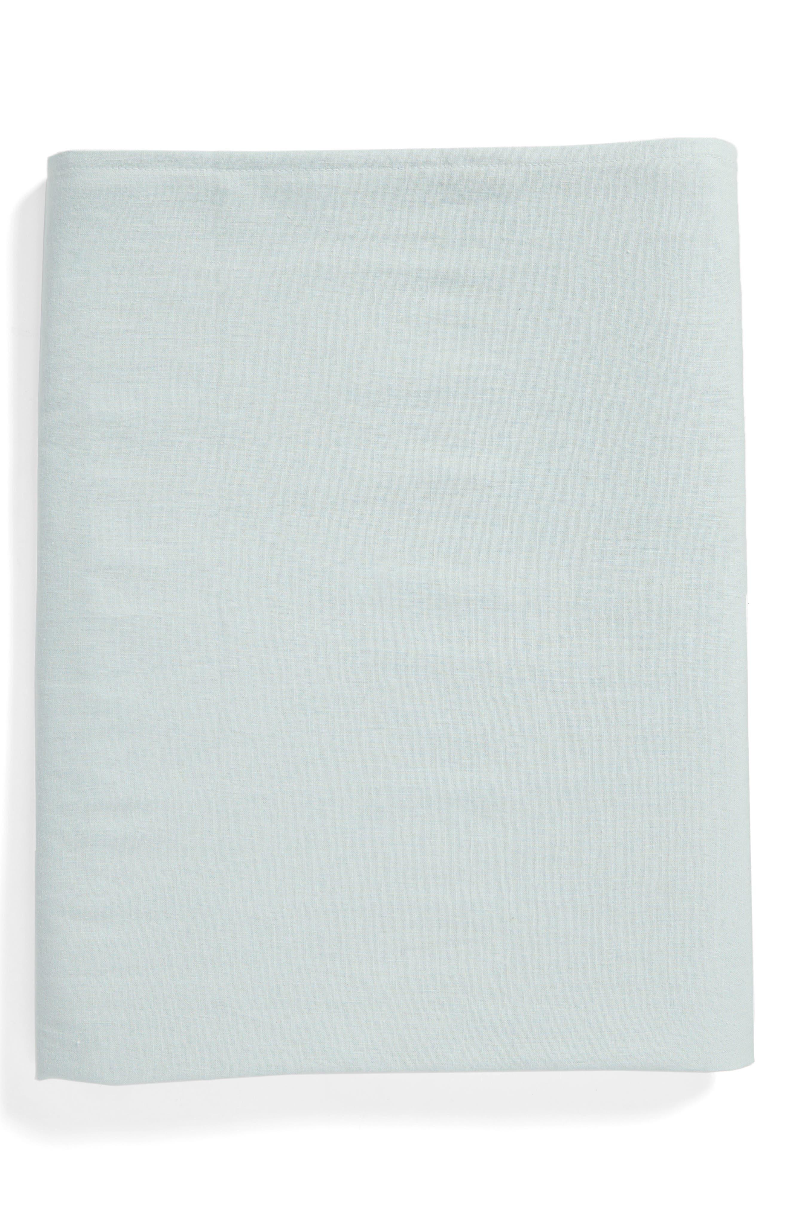 Levtex Round Linen Tablecloth