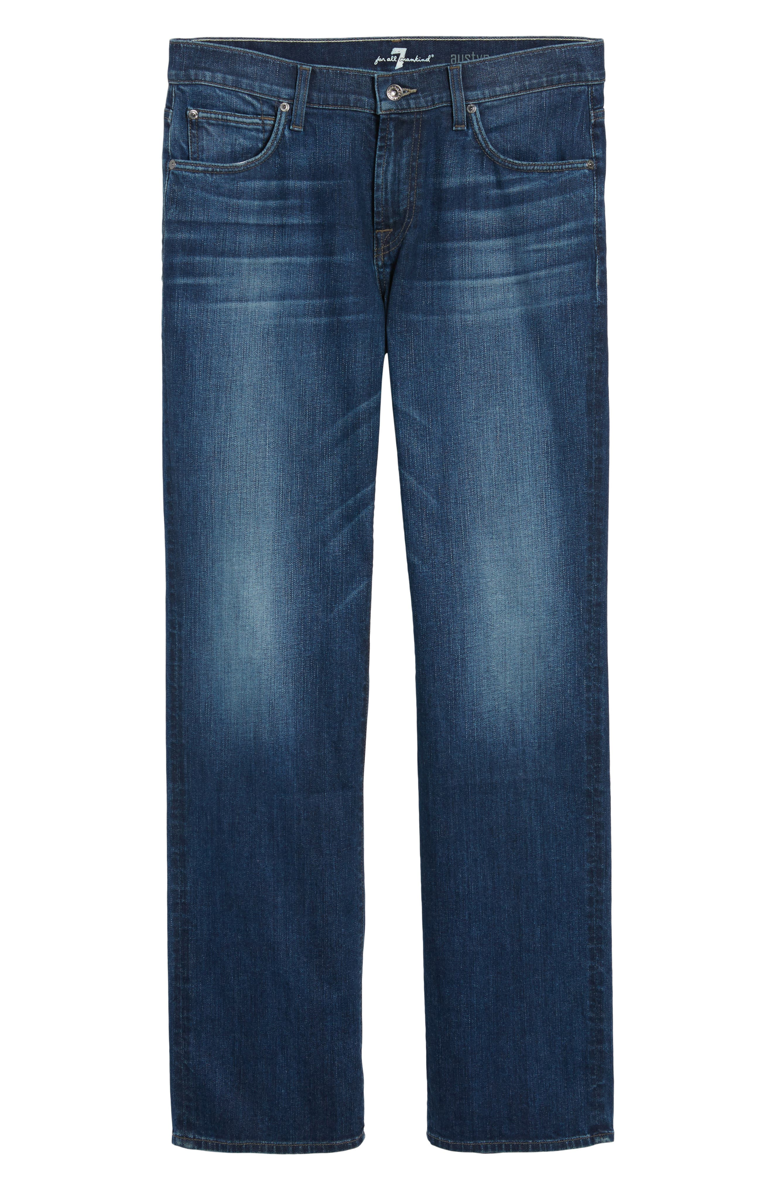 Alternate Image 6  - 7 For All Mankind® Austyn Relaxed Fit Jeans (Recollection)