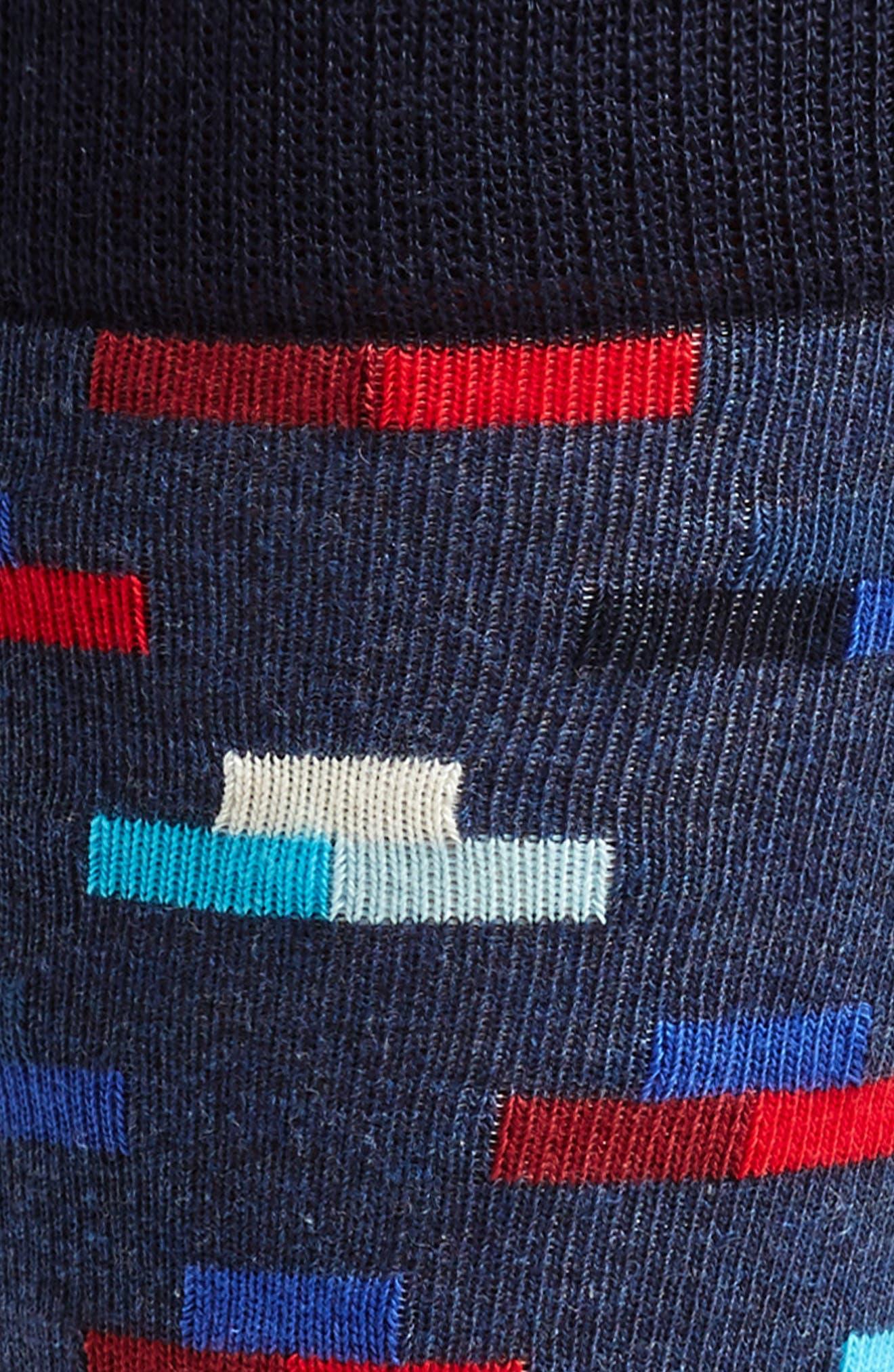 Alternate Image 2  - Happy Socks Digitized Pixel Socks (3 for $30)