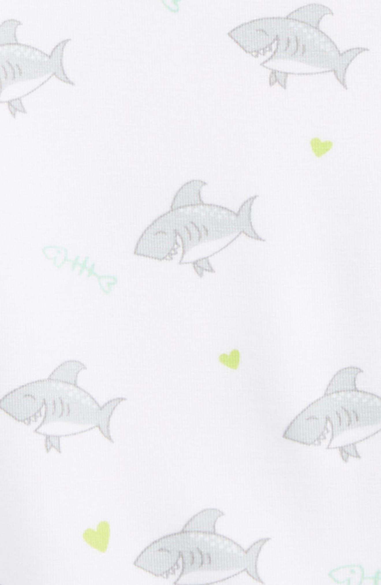 Shark Bodysuit,                             Alternate thumbnail 2, color,                             Grey